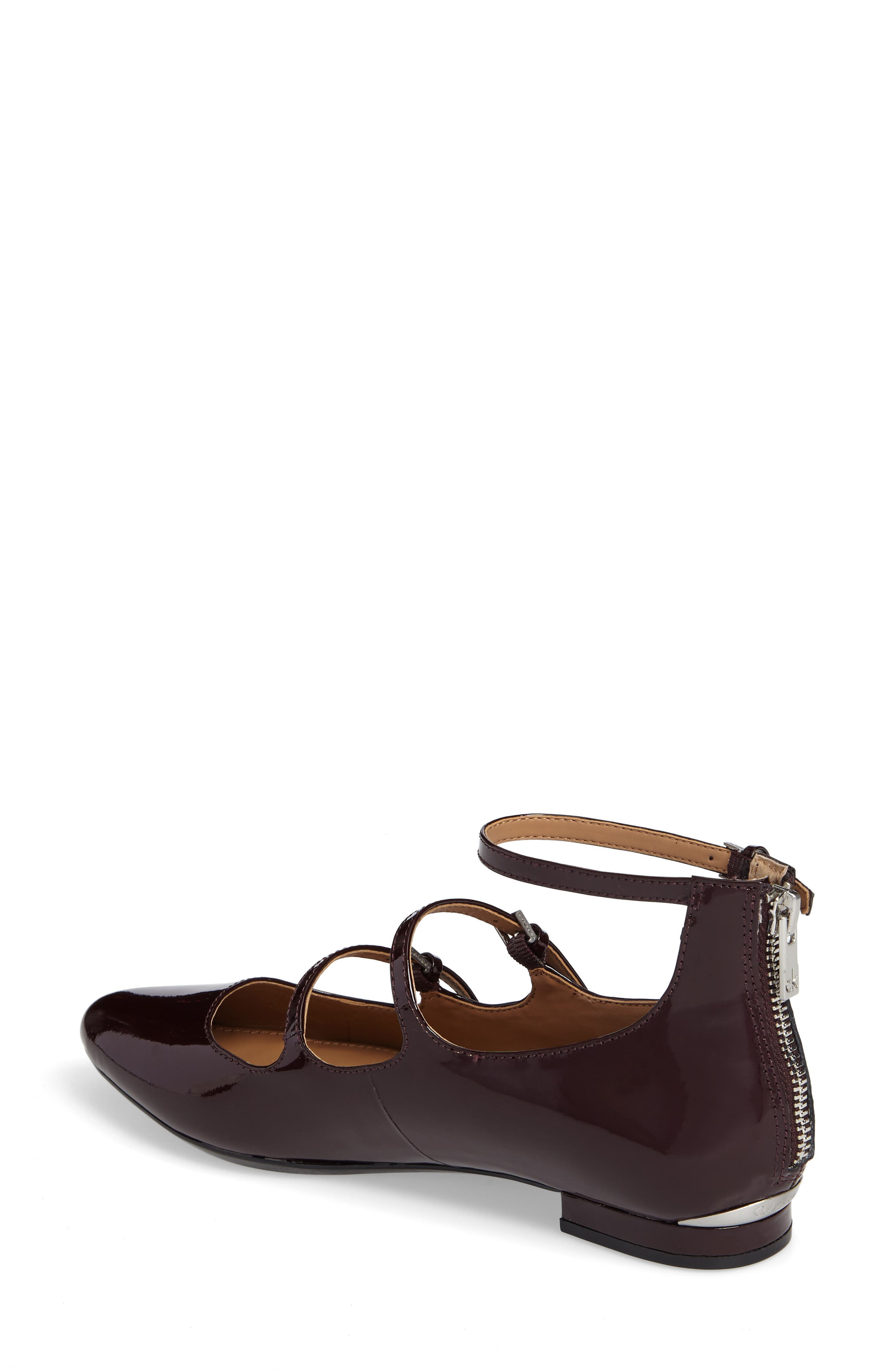 Alternate Image 2  - Calvin Klein Gavinia Strappy Flat (Women)