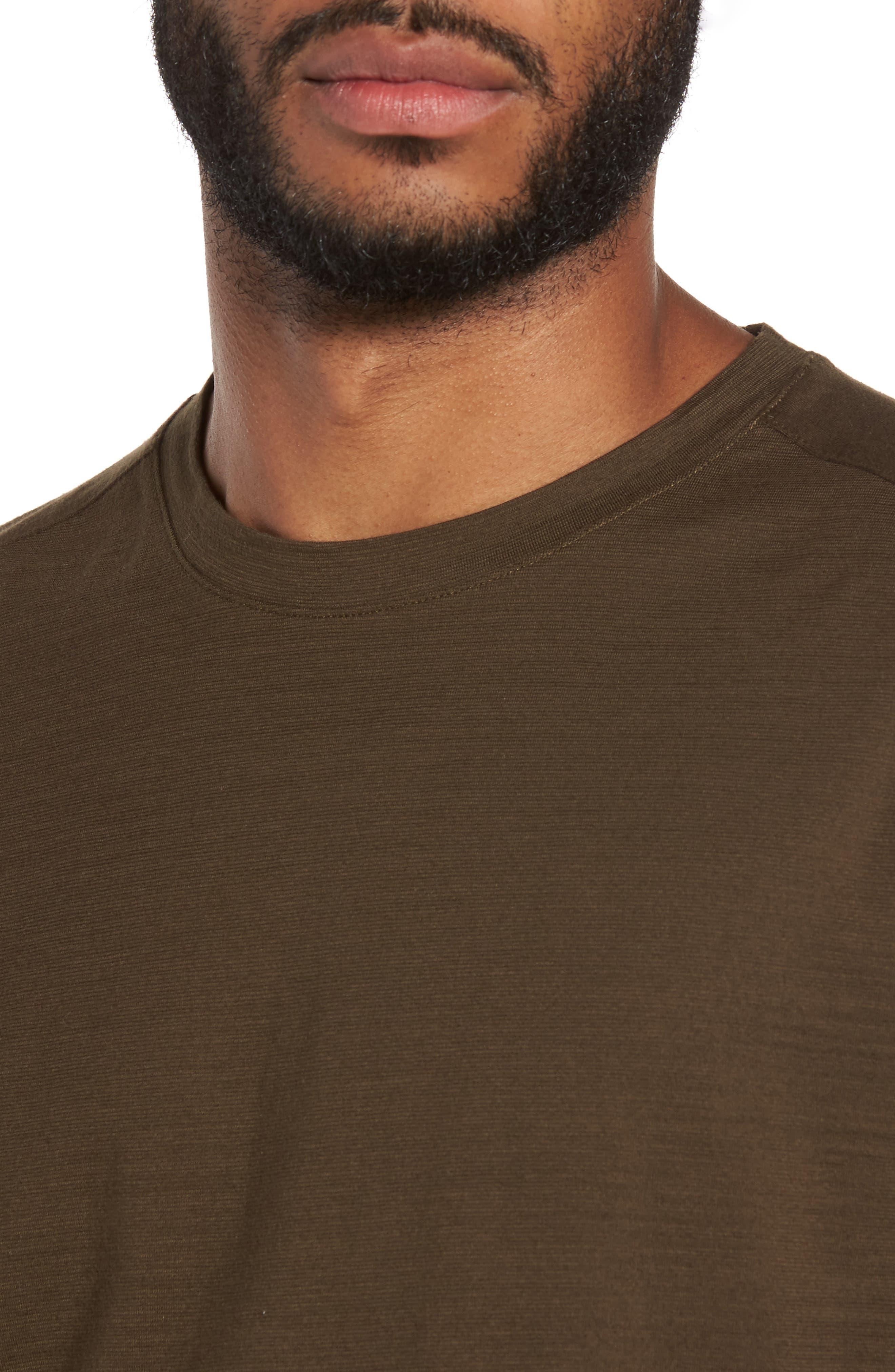 Tenison Long Sleeve T-Shirt,                             Alternate thumbnail 4, color,                             Olive