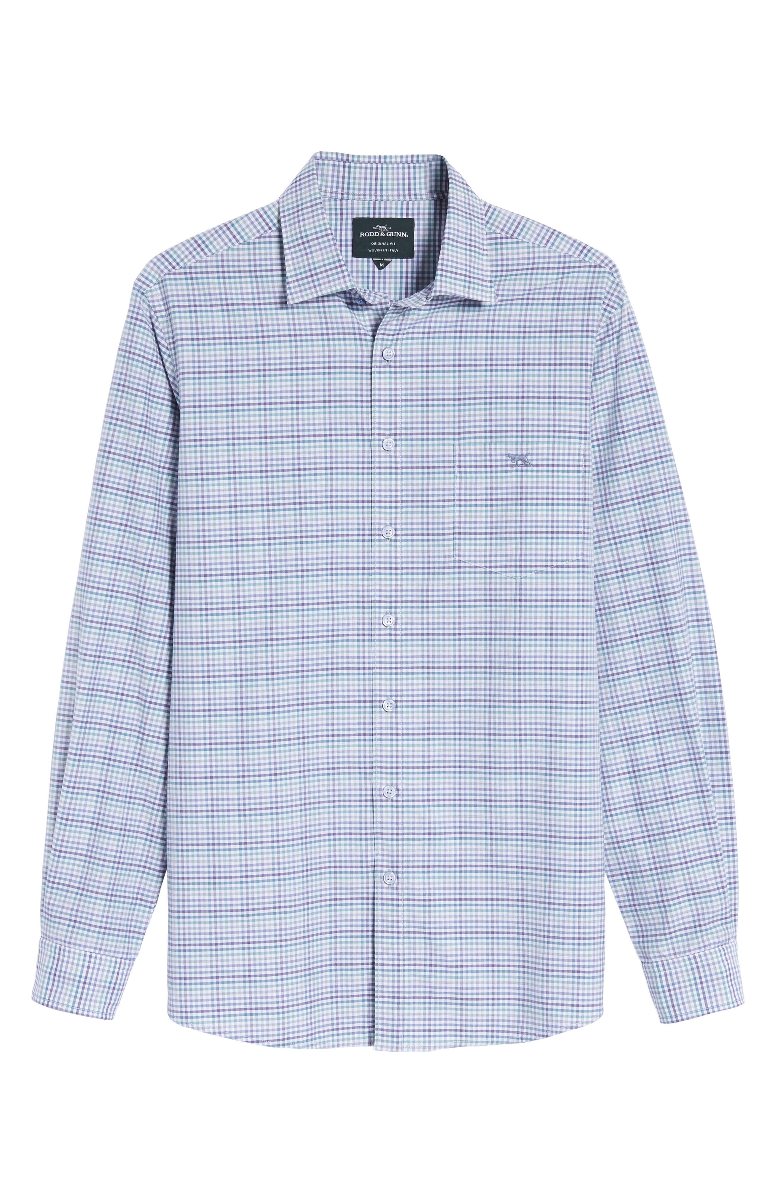 Alternate Image 6  - Rodd & Gunn Woodlaw Original Fit Check Sport Shirt
