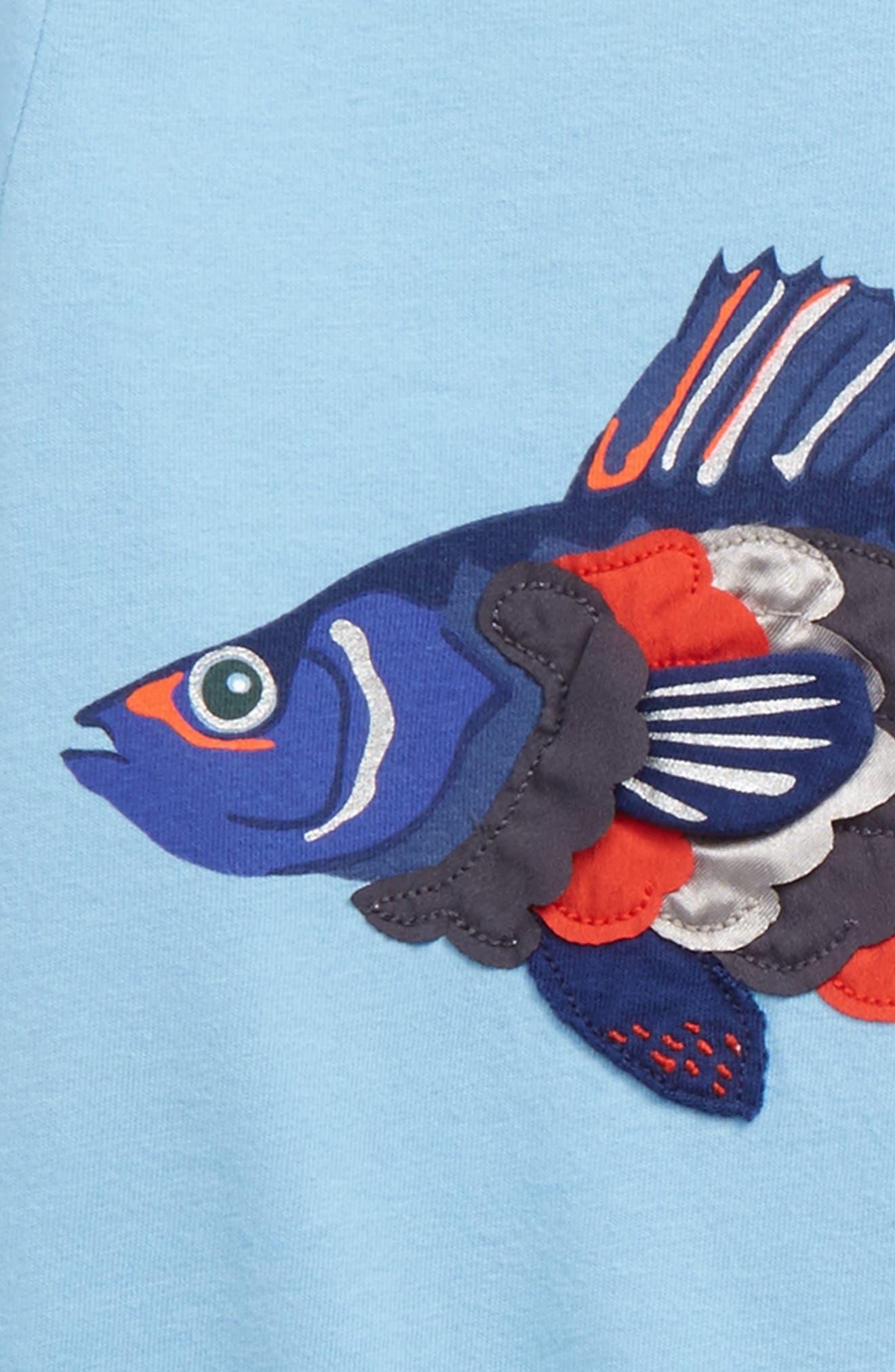 Alternate Image 2  - Mini Boden Textured Creature T-Shirt (Toddler Boys, Little Boys & Big Boys)