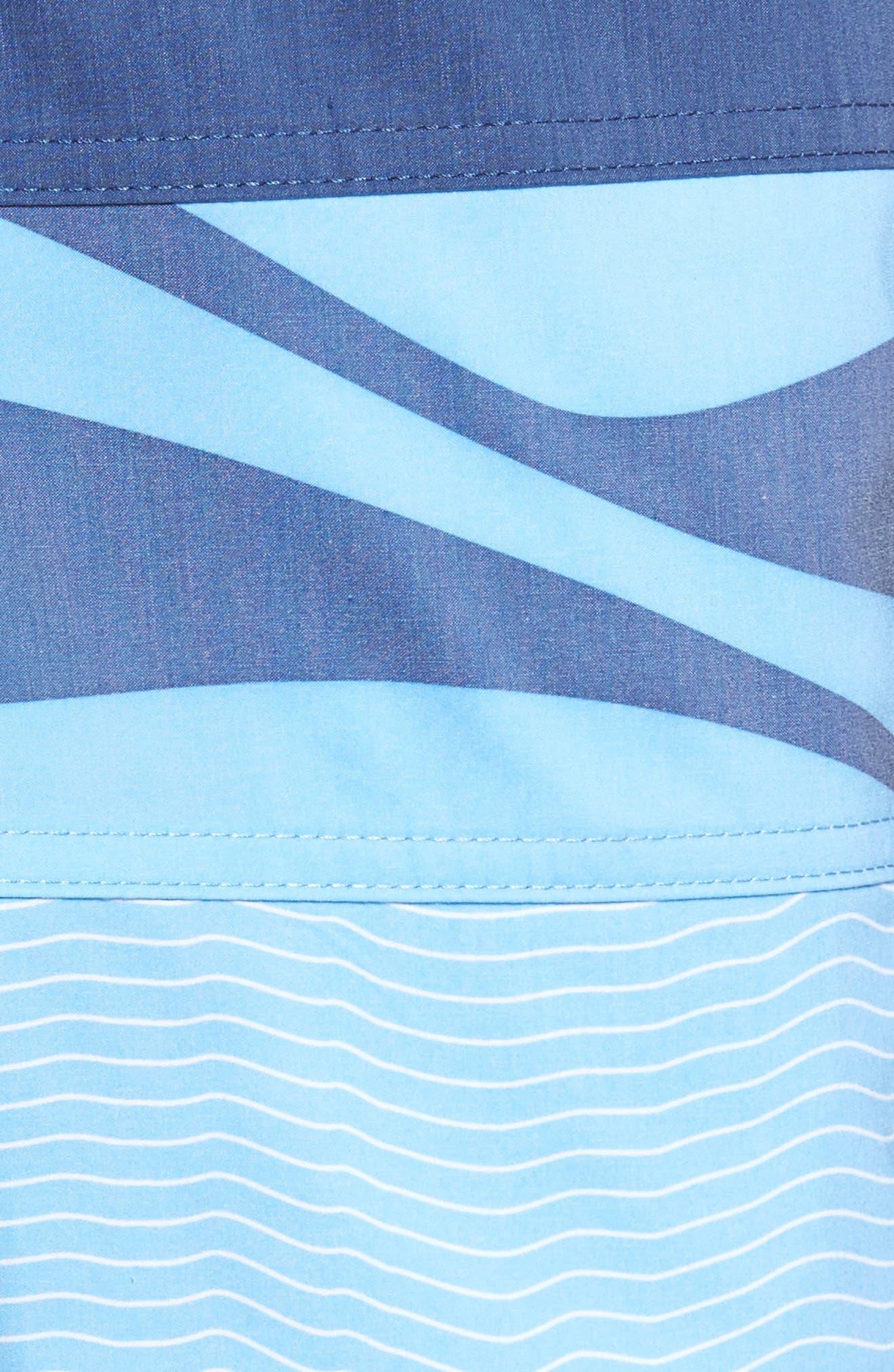Alternate Image 5  - Quiksilver Heatwave Blocked Board Shorts
