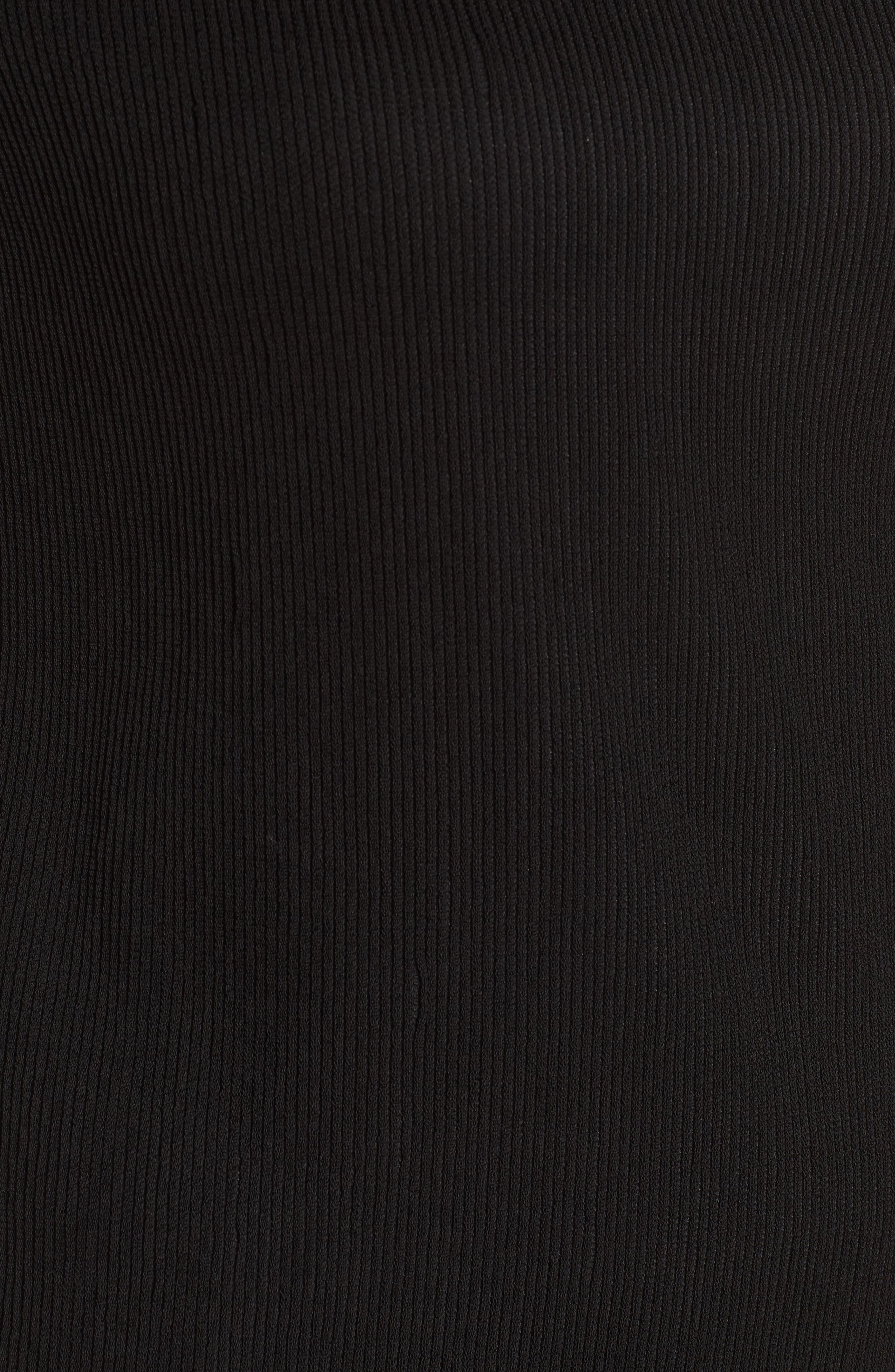 Etelina Sweater,                             Alternate thumbnail 5, color,                             Black