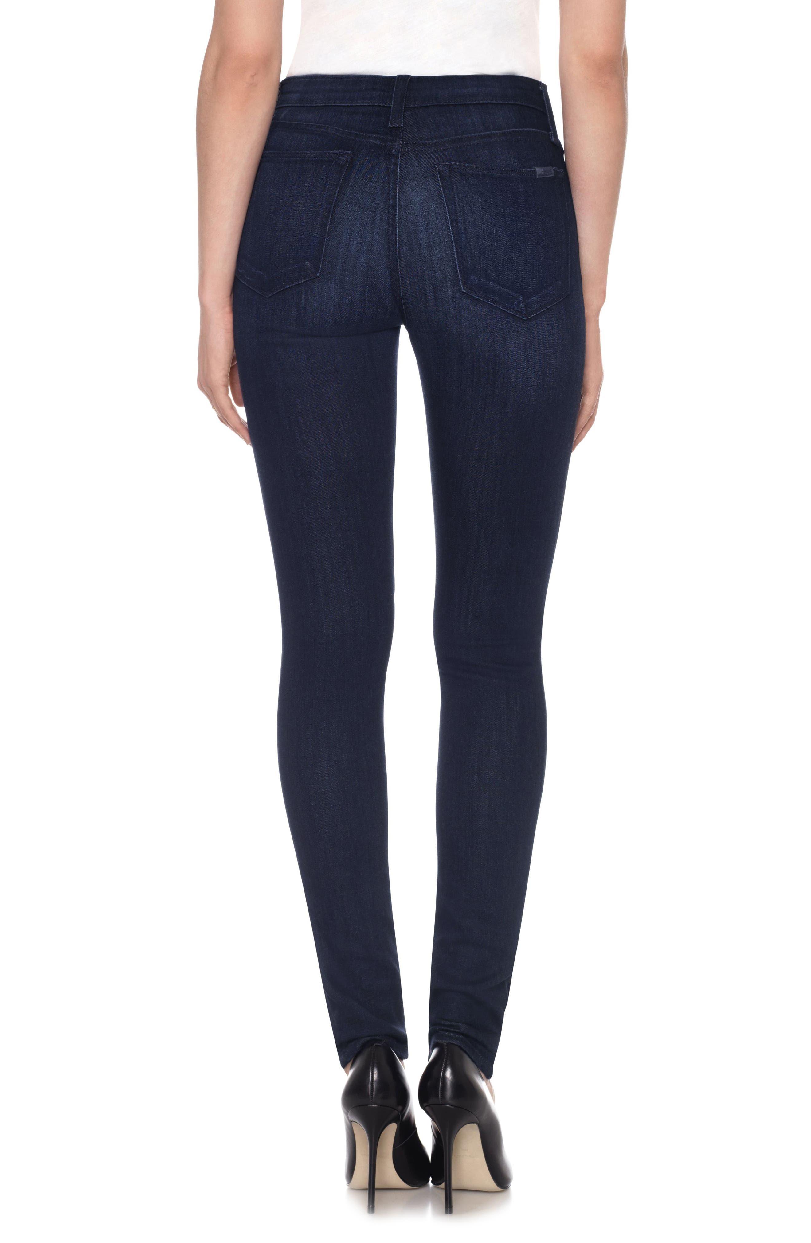 Alternate Image 2  - Joe's Charlie High Waist Skinny Jeans (Arden)