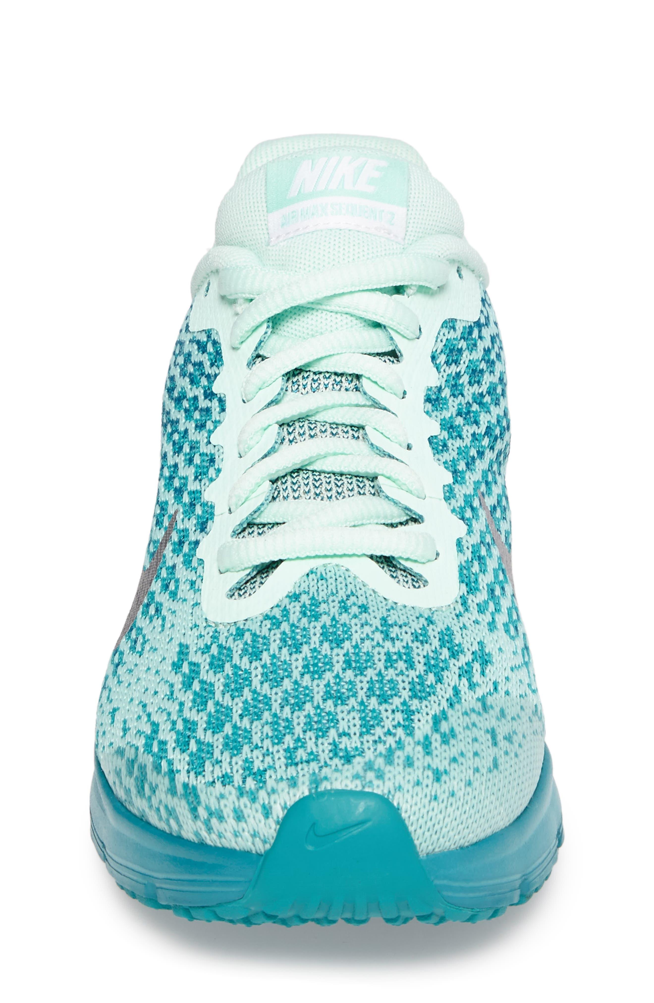 Alternate Image 4  - Nike Air Max Sequent 2 Sneaker (Big Kid)