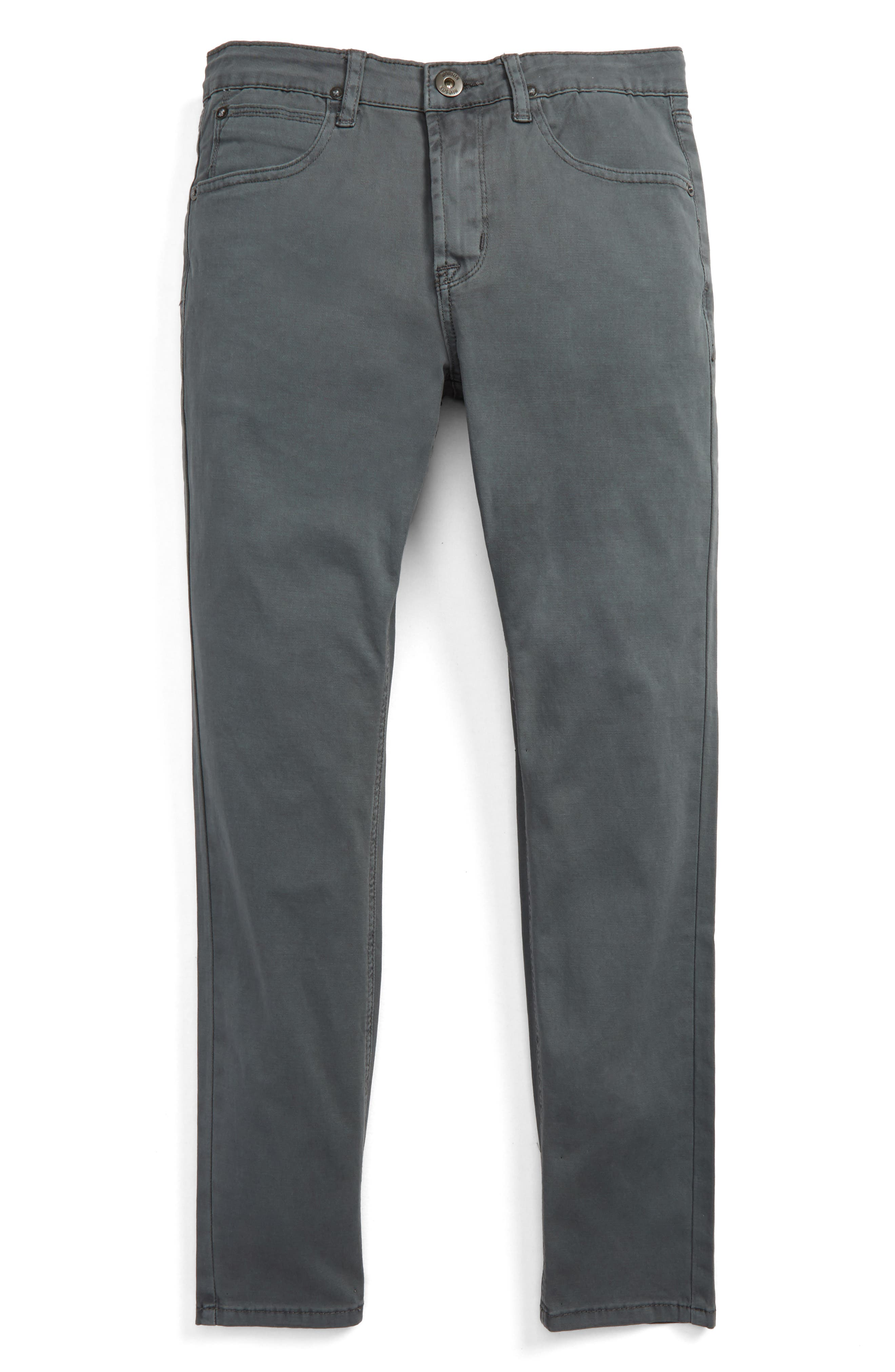 Alternate Image 1 Selected - Hudson Jeans Jagger Slim Fit Straight Leg Pants (Big Boys)