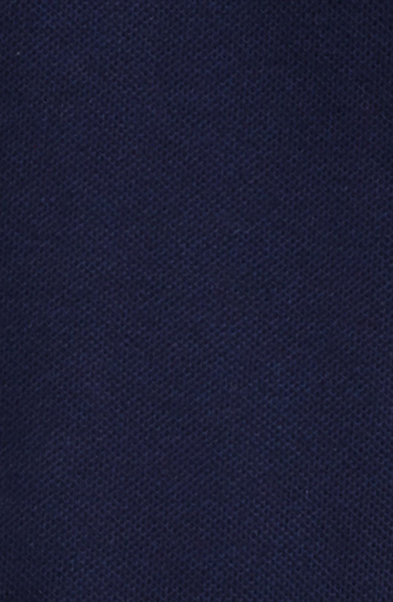 Stripe Collar Footie,                             Alternate thumbnail 2, color,                             Blue Multi
