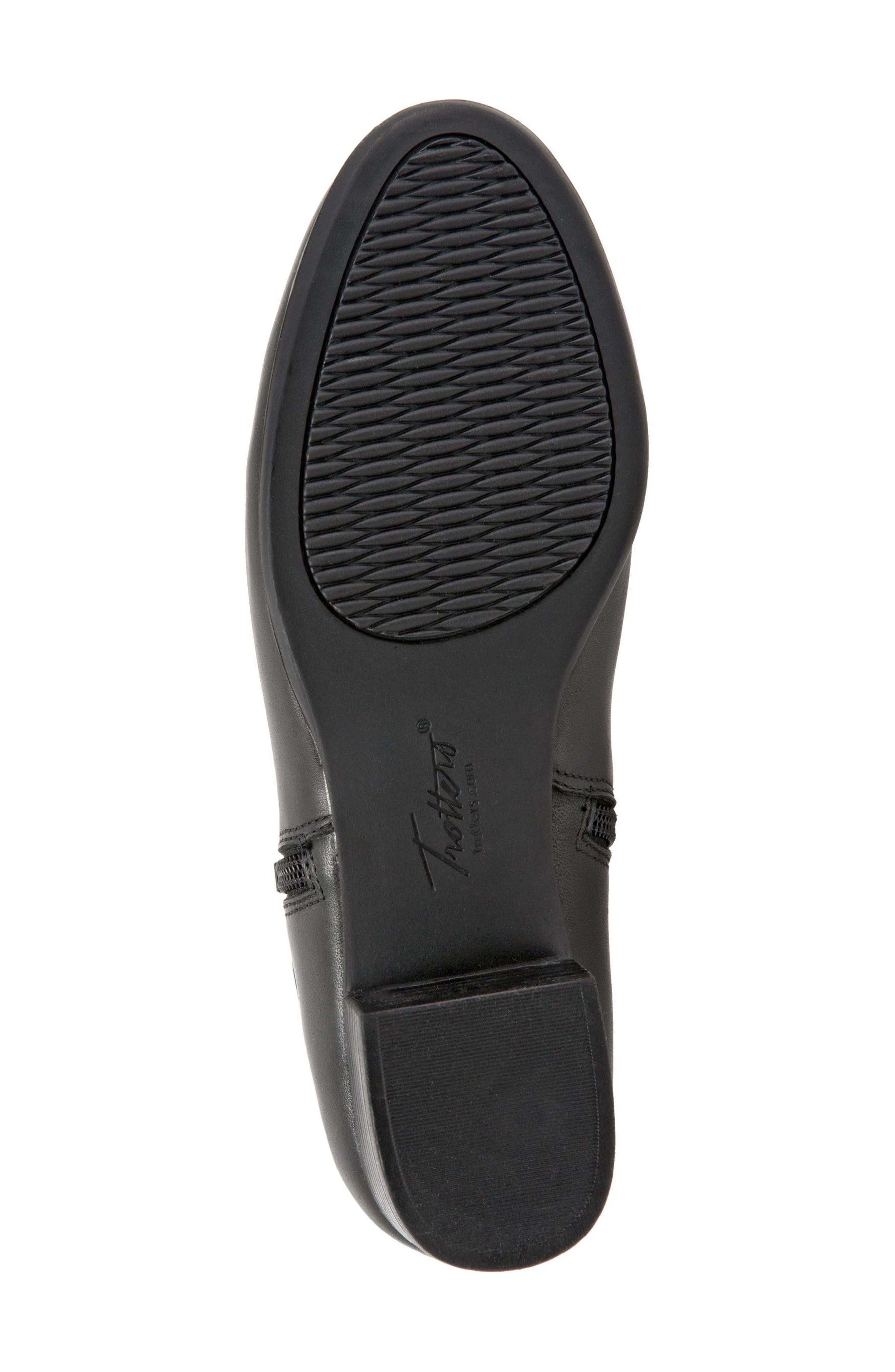 Major Bootie,                             Alternate thumbnail 6, color,                             Black Leather