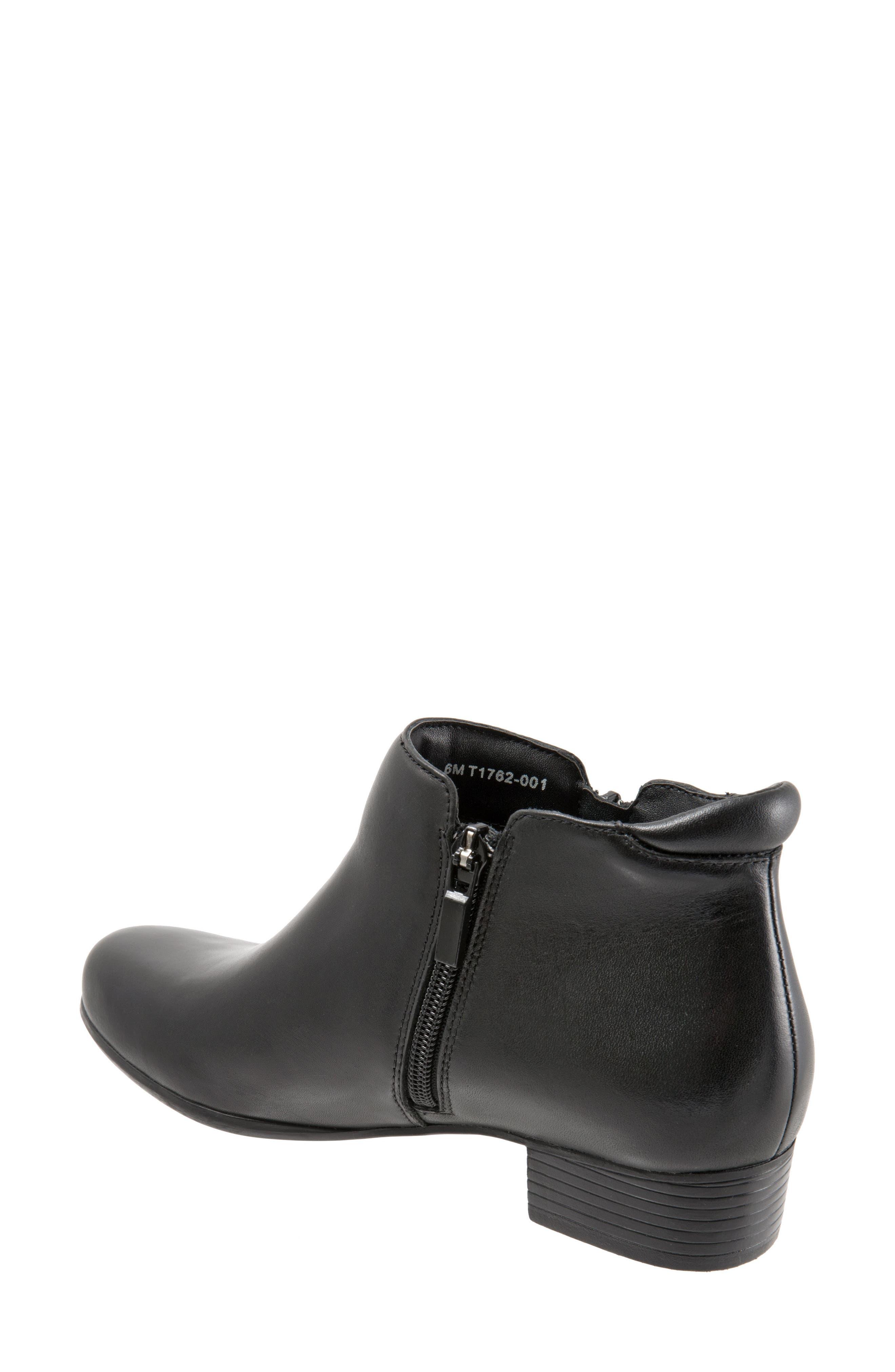 Major Bootie,                             Alternate thumbnail 2, color,                             Black Leather