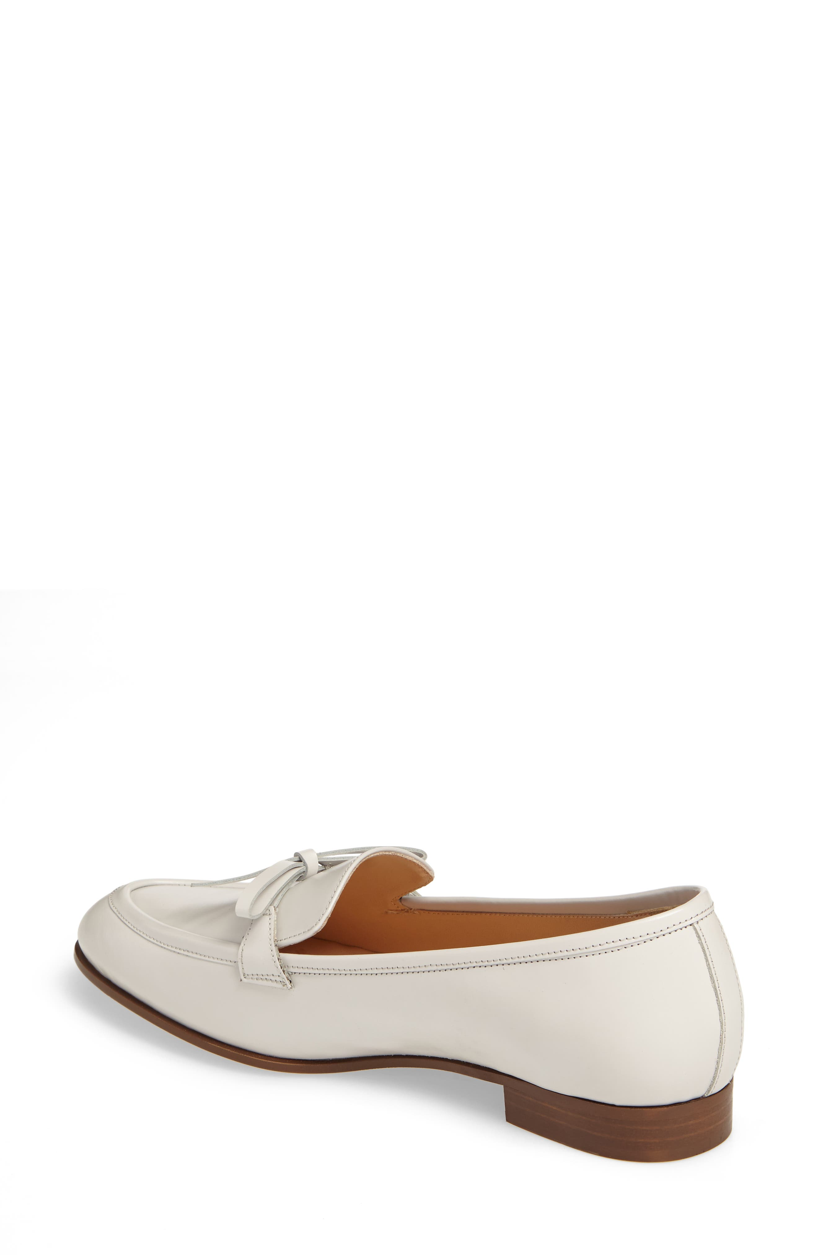 Bow Loafer,                             Alternate thumbnail 2, color,                             Highland Mist Leather