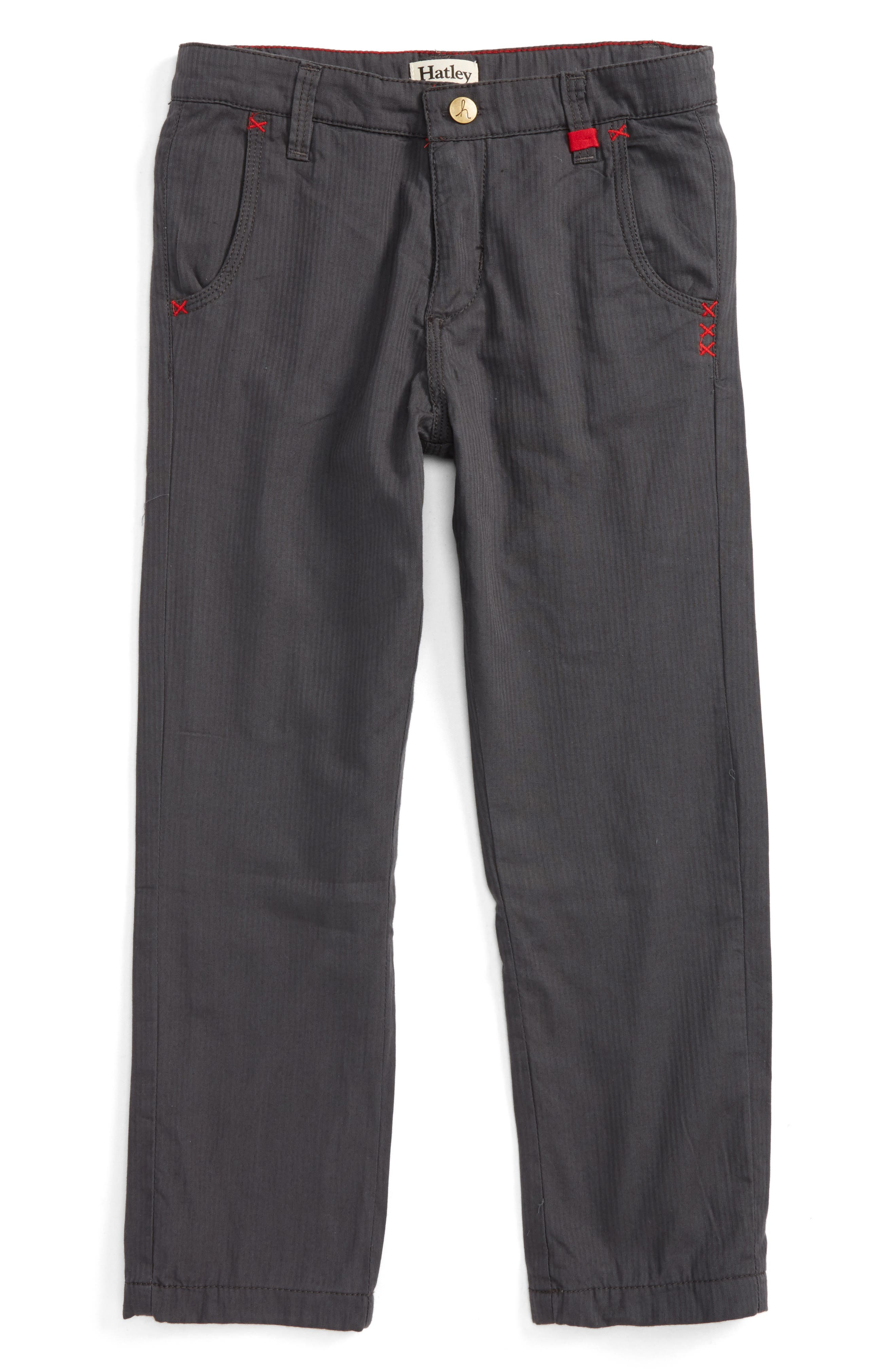 Twill Pants,                         Main,                         color, Charcoal