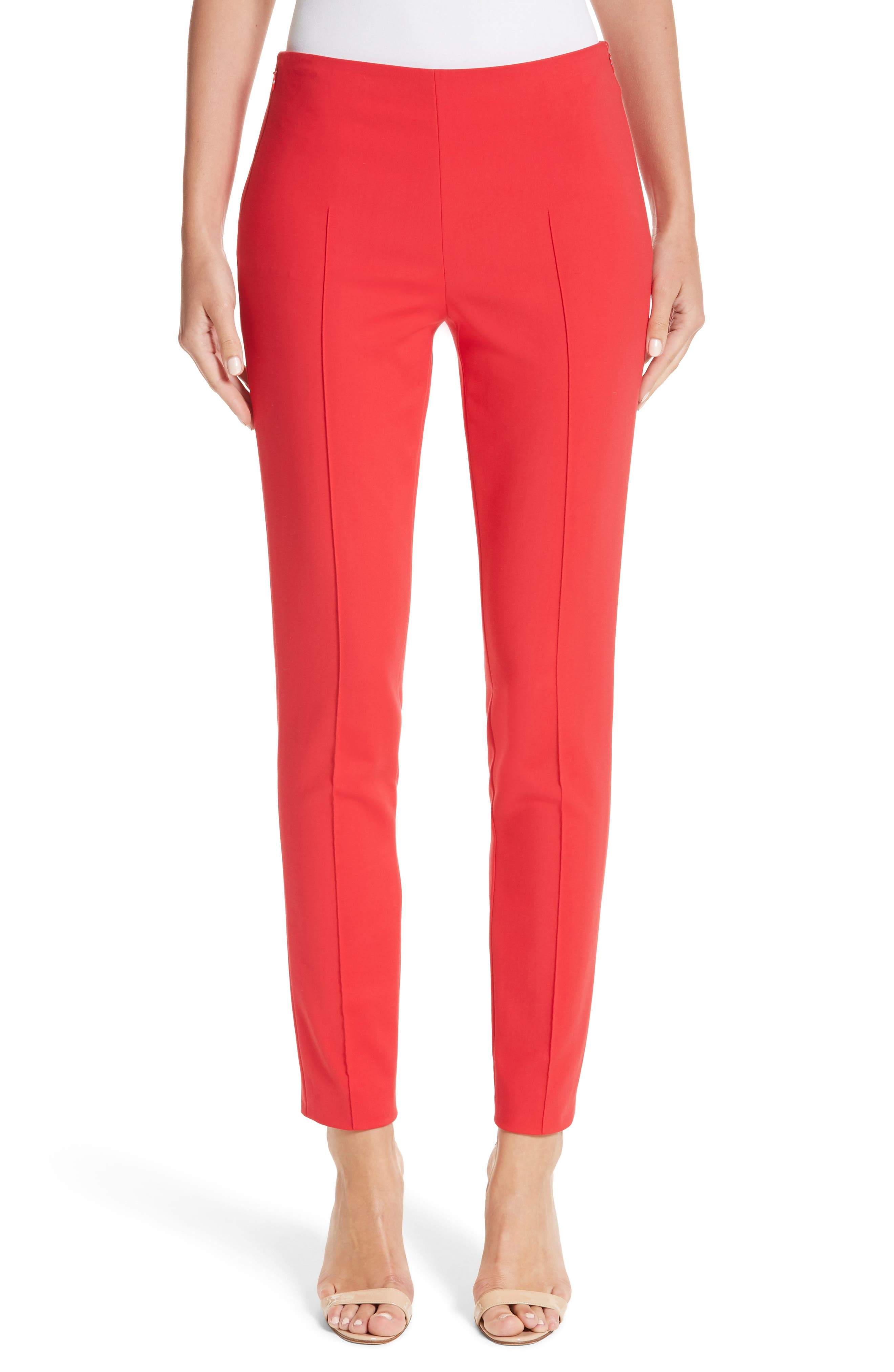 Akris Melissa Techno Cotton Blend Pants