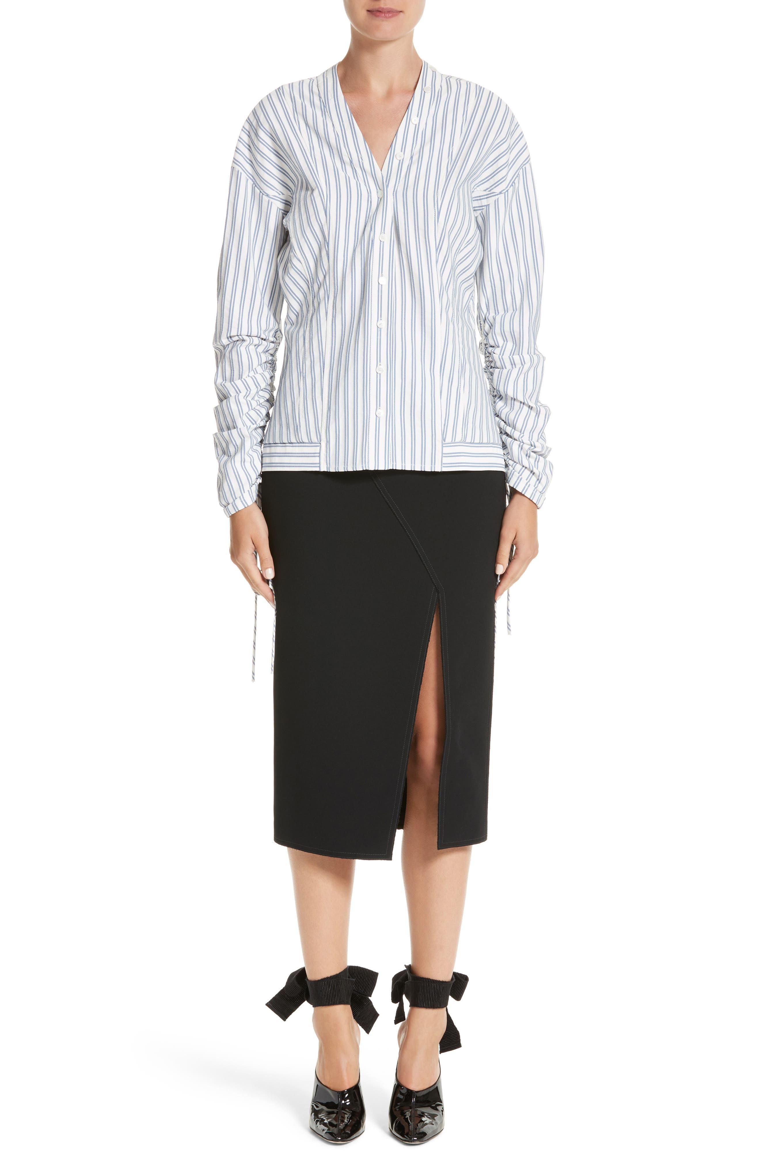 Alternate Image 7  - Jason Wu Compact Crepe Pencil Skirt