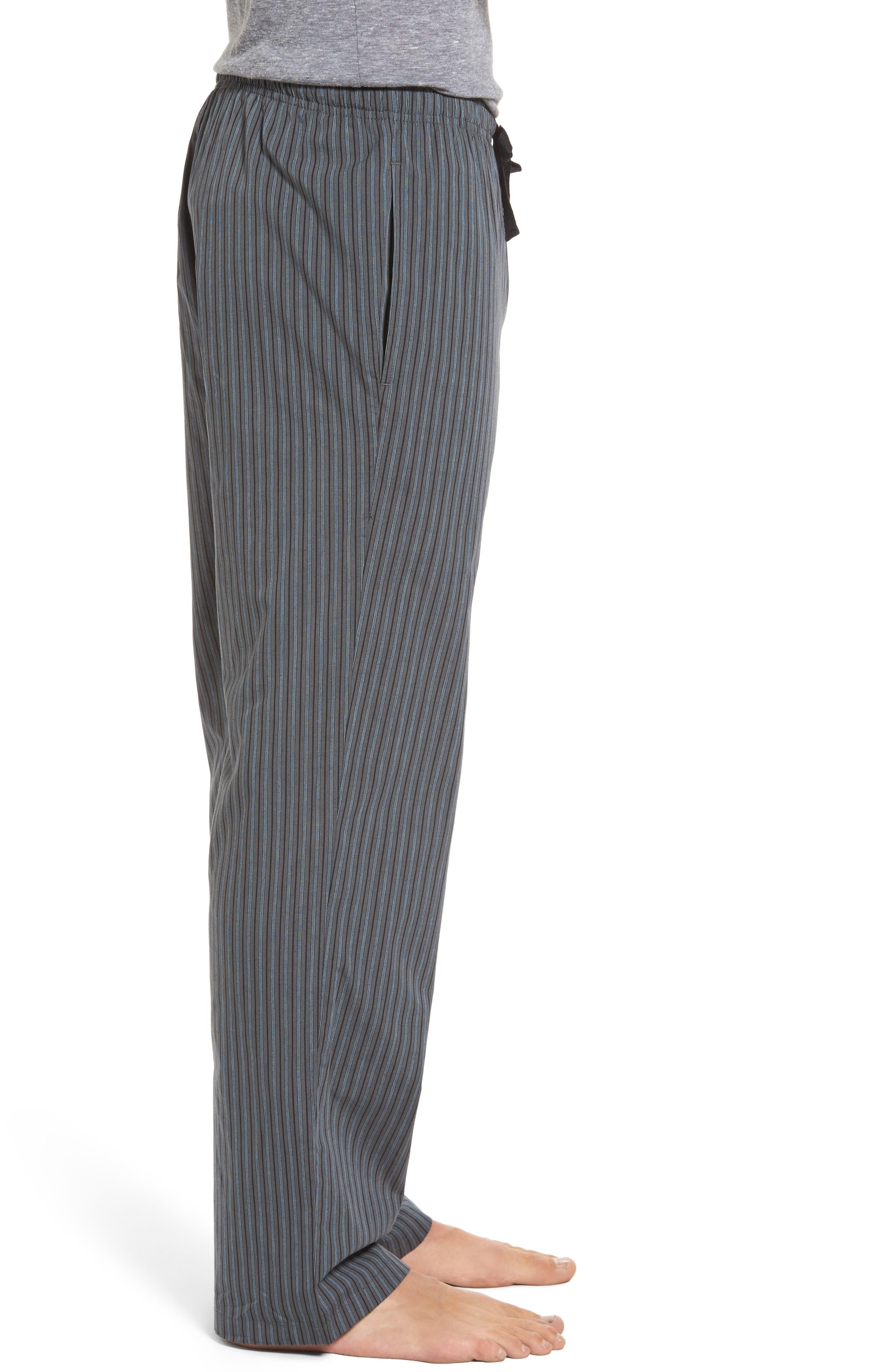 Alternate Image 3  - Nordstrom Men's Shop Poplin Lounge Pants