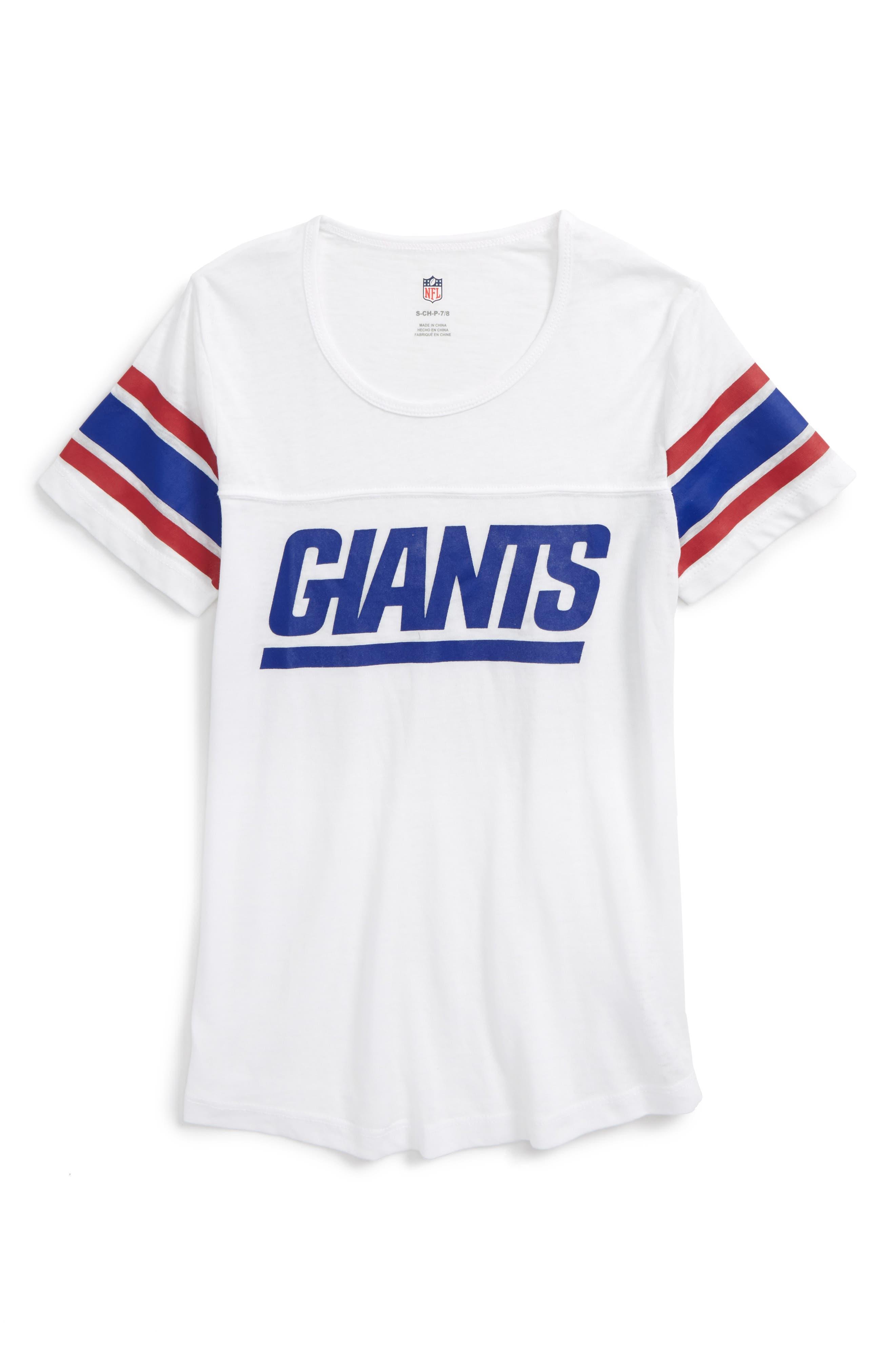 Main Image - Outerstuff NFL New York Giants Team Pride Tee (Big Girls)