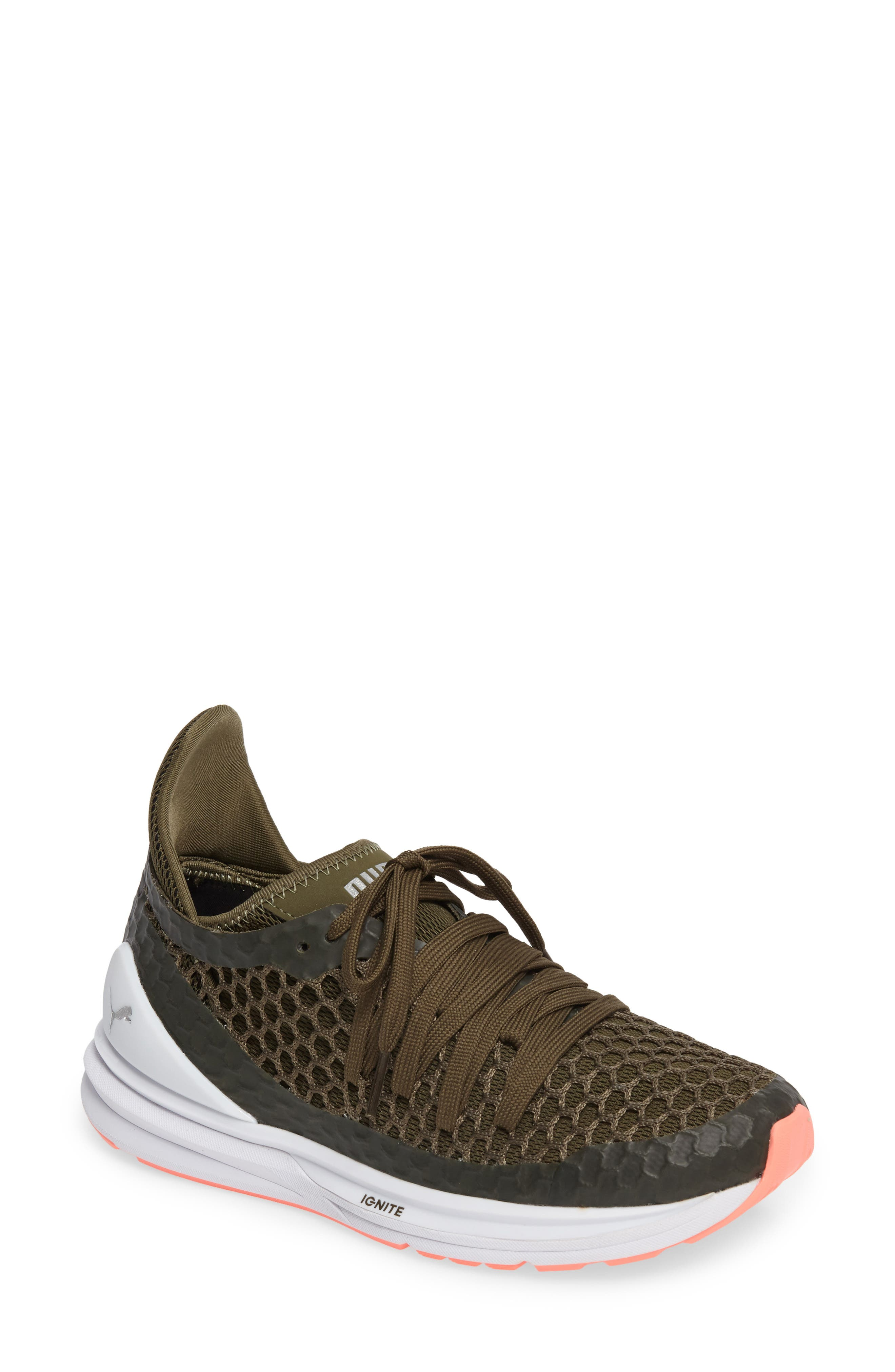 Alternate Image 1 Selected - PUMA Ignite Limitless Netfit Running Shoe (Women)