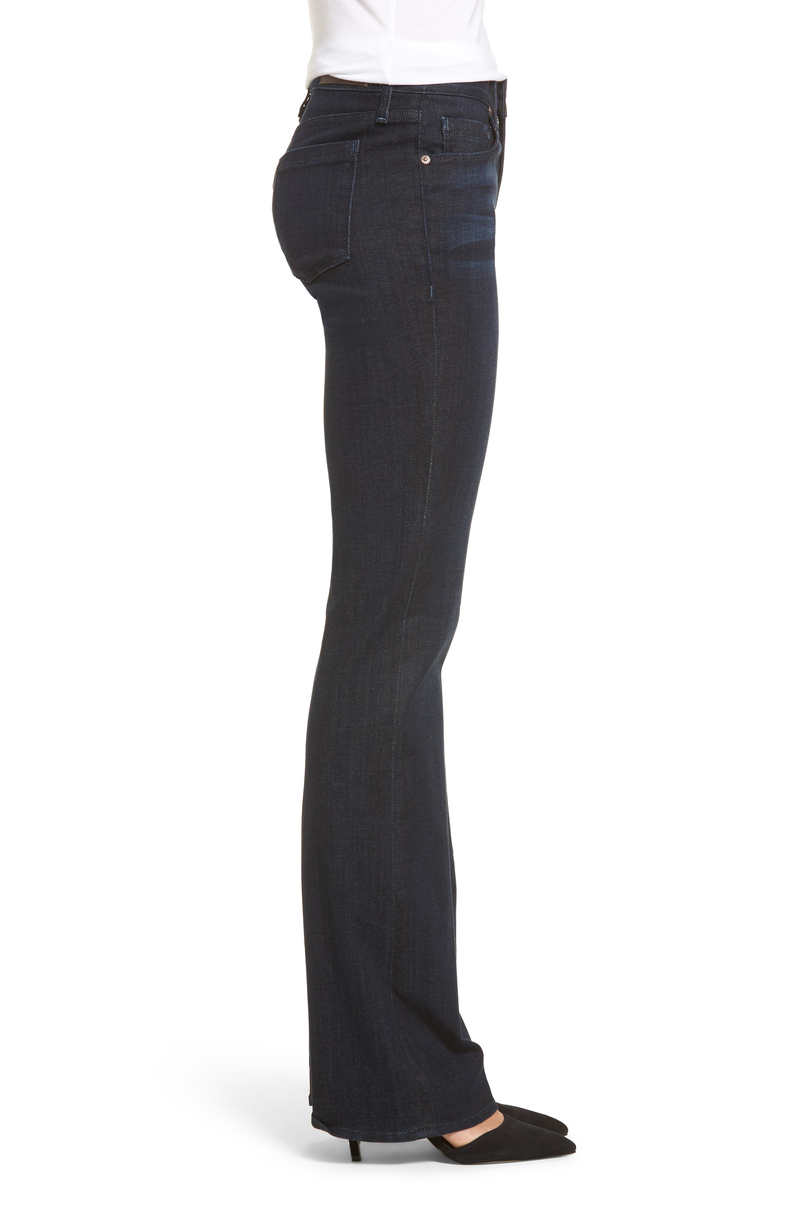 Becky Bootcut Jeans,                             Alternate thumbnail 3, color,                             Washed Sky