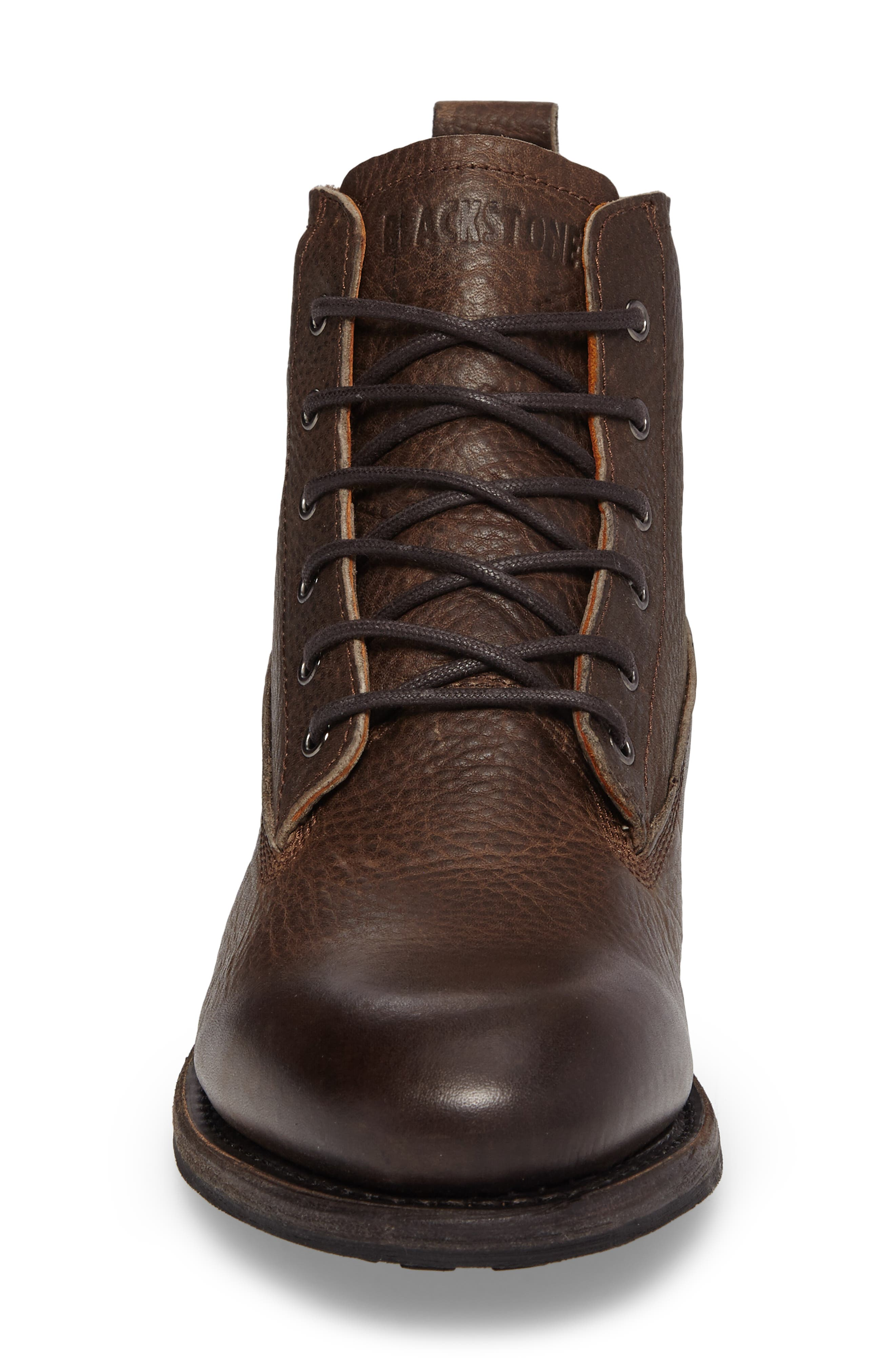 'GM 09' Plain Toe Boot,                             Alternate thumbnail 4, color,                             Gull Leather