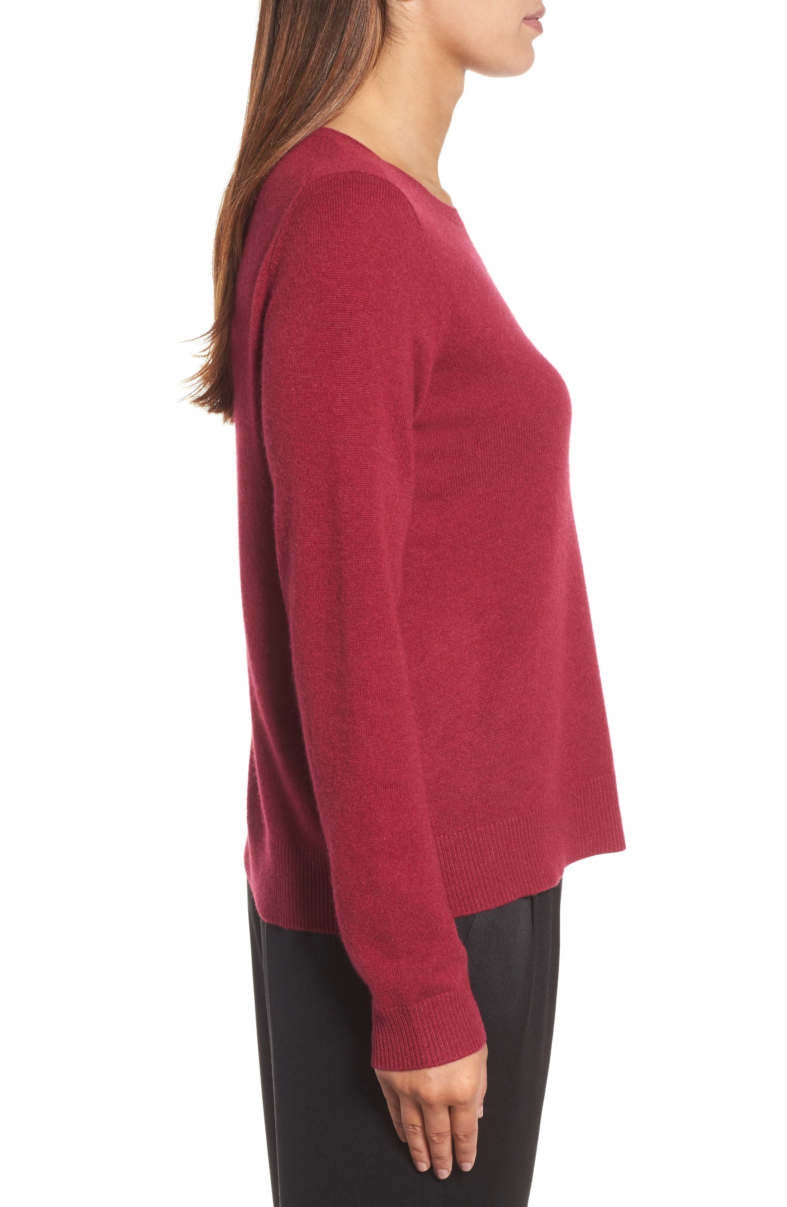 Alternate Image 3  - Eileen Fisher Cashmere Sweater