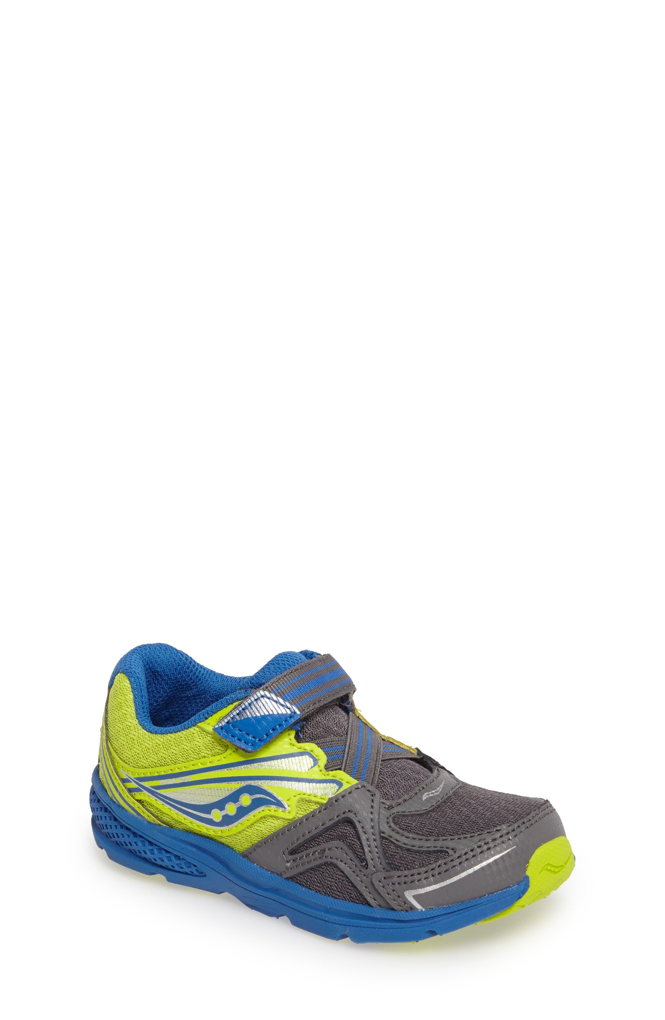 'Ride' Sneaker,                             Main thumbnail 1, color,                             Grey/ Lime