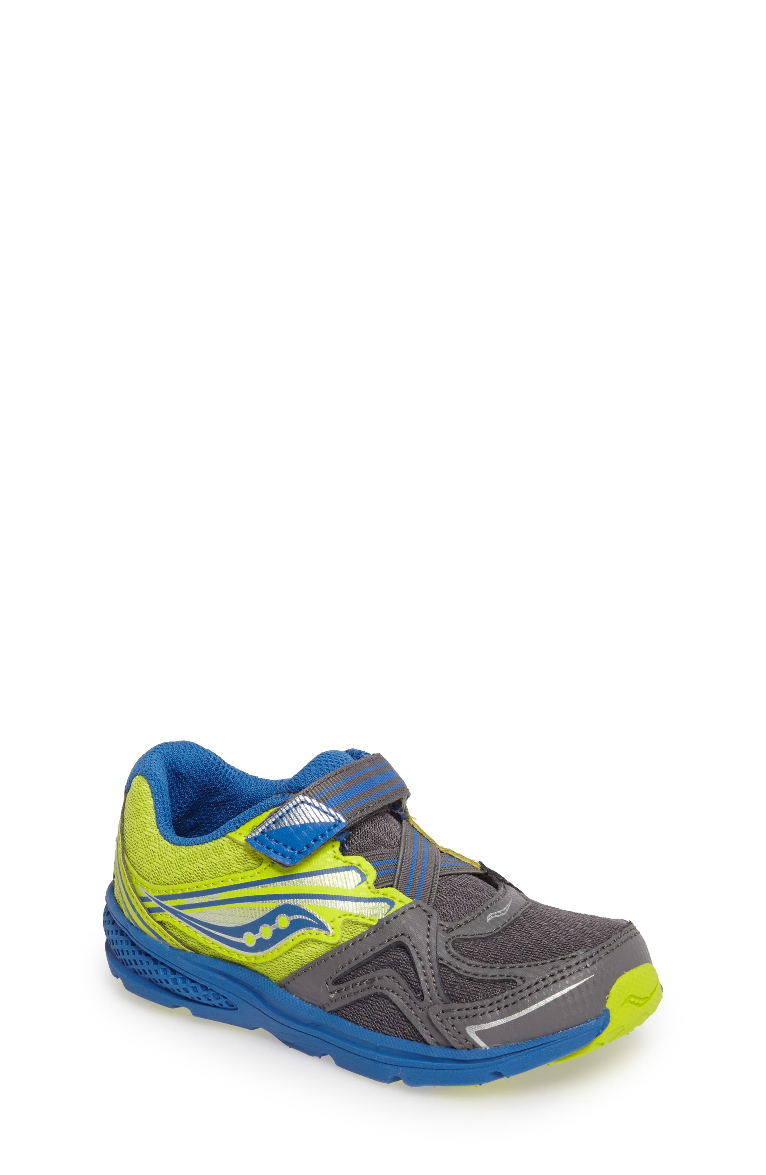 'Ride' Sneaker,                         Main,                         color, Grey/ Lime