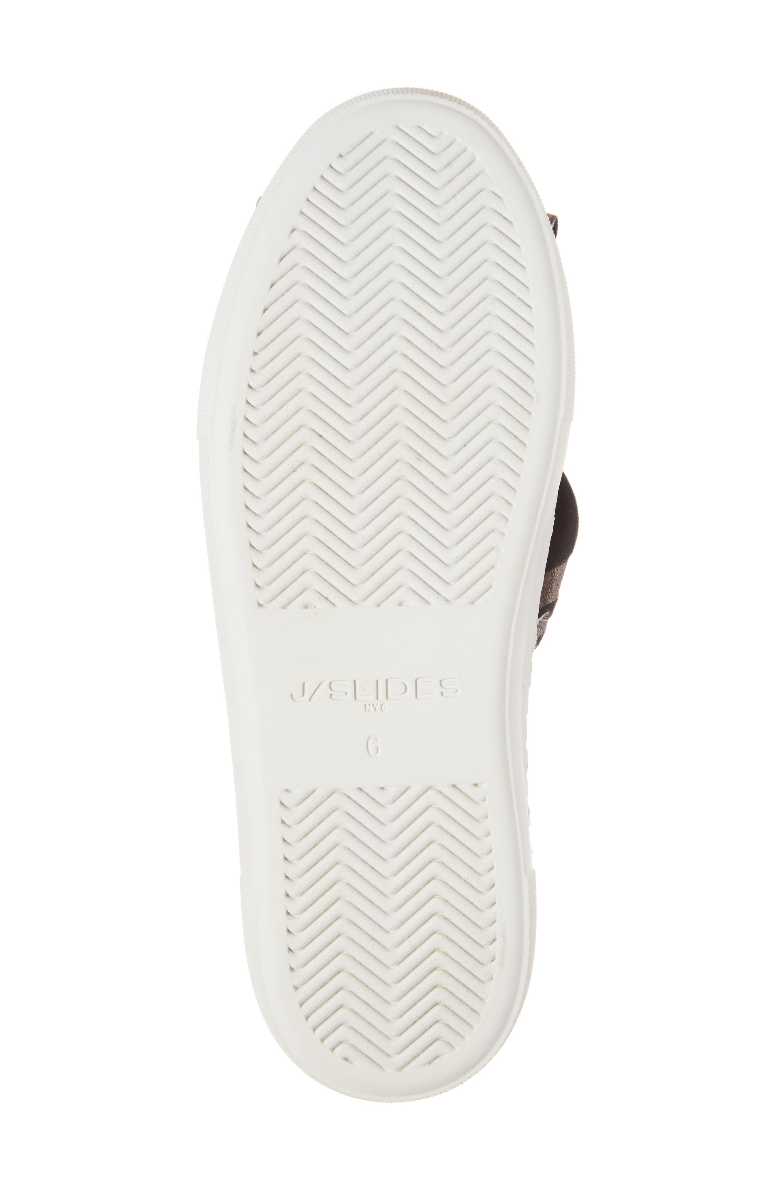Audra Slip-On Sneaker,                             Alternate thumbnail 6, color,                             Black Camo Fabric