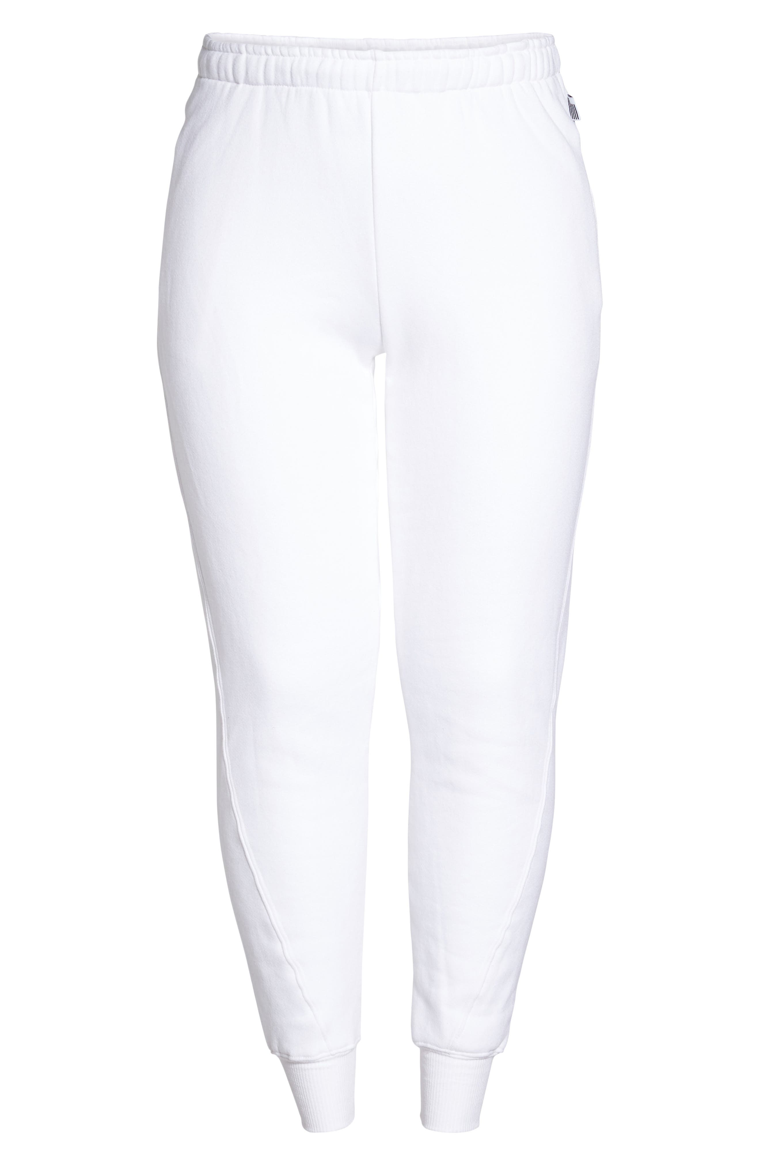 Good Sweats The Twisted Seam Pants,                             Alternate thumbnail 10, color,                             Off White