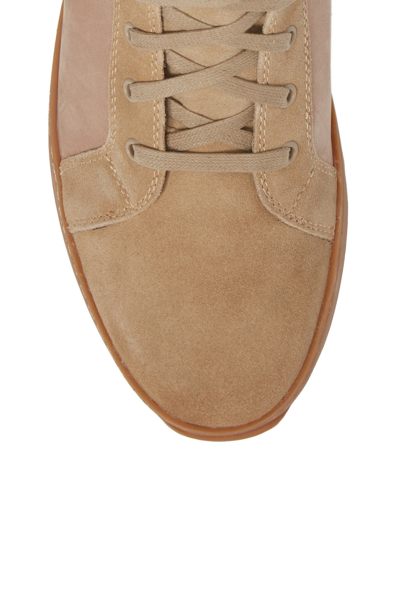 Shane Sneaker,                             Alternate thumbnail 5, color,                             Sand Suede
