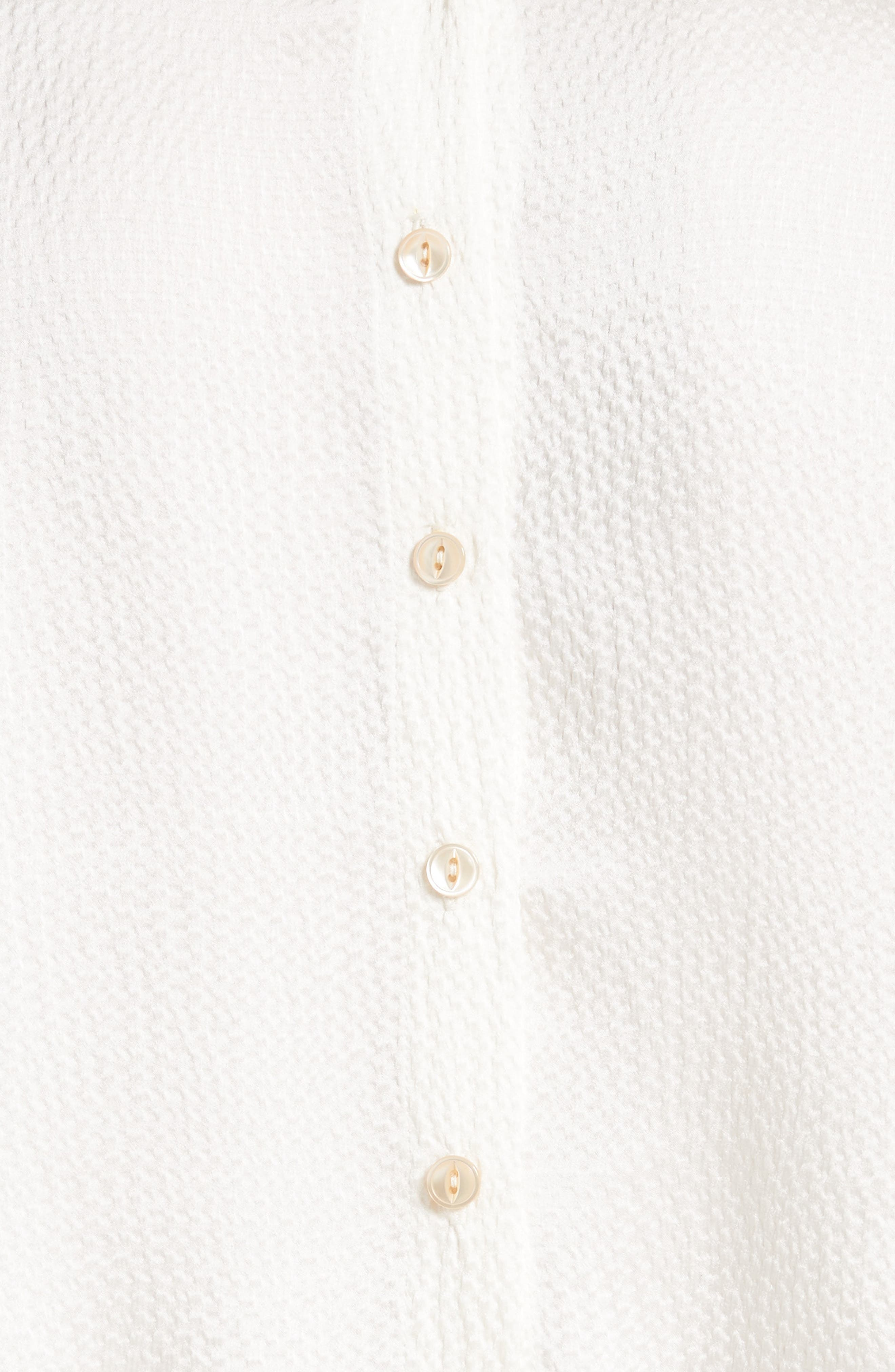 Alternate Image 5  - Rebecca Taylor Silk Ruffle Blouse