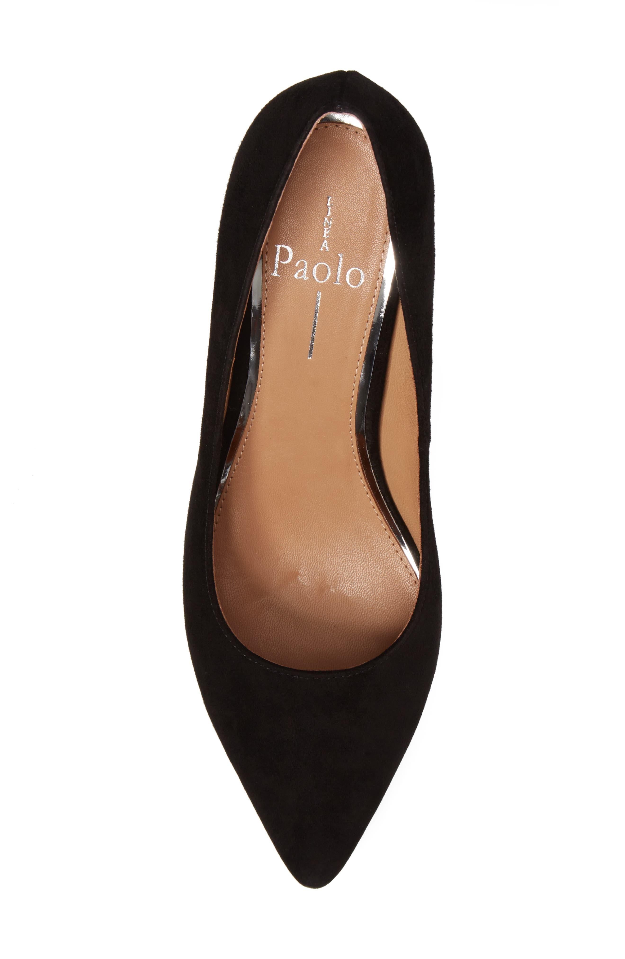 Alternate Image 5  - Linea Paolo Blair Block Heel Pump (Women)