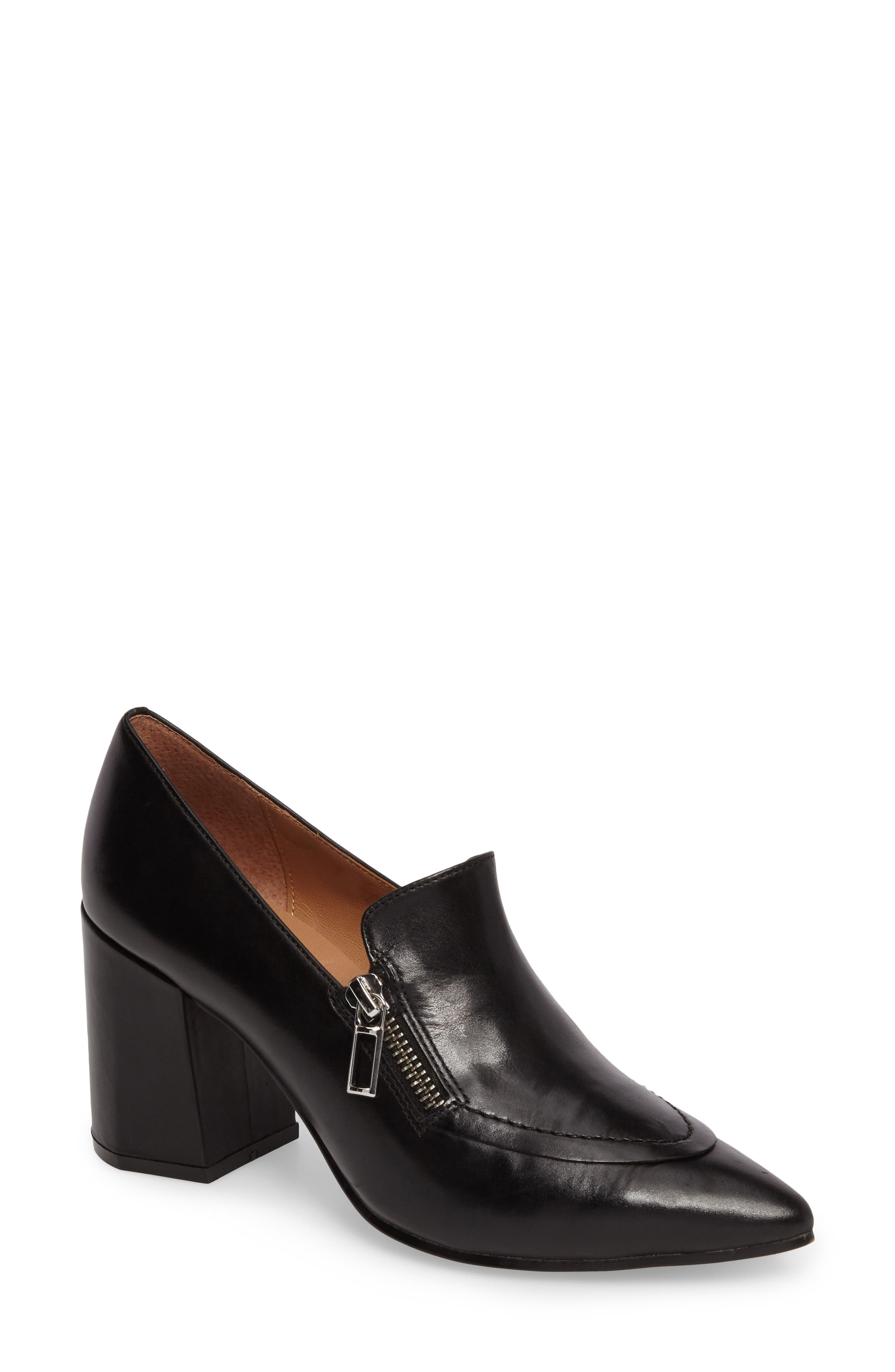 Classy Pump,                         Main,                         color, Black Leather