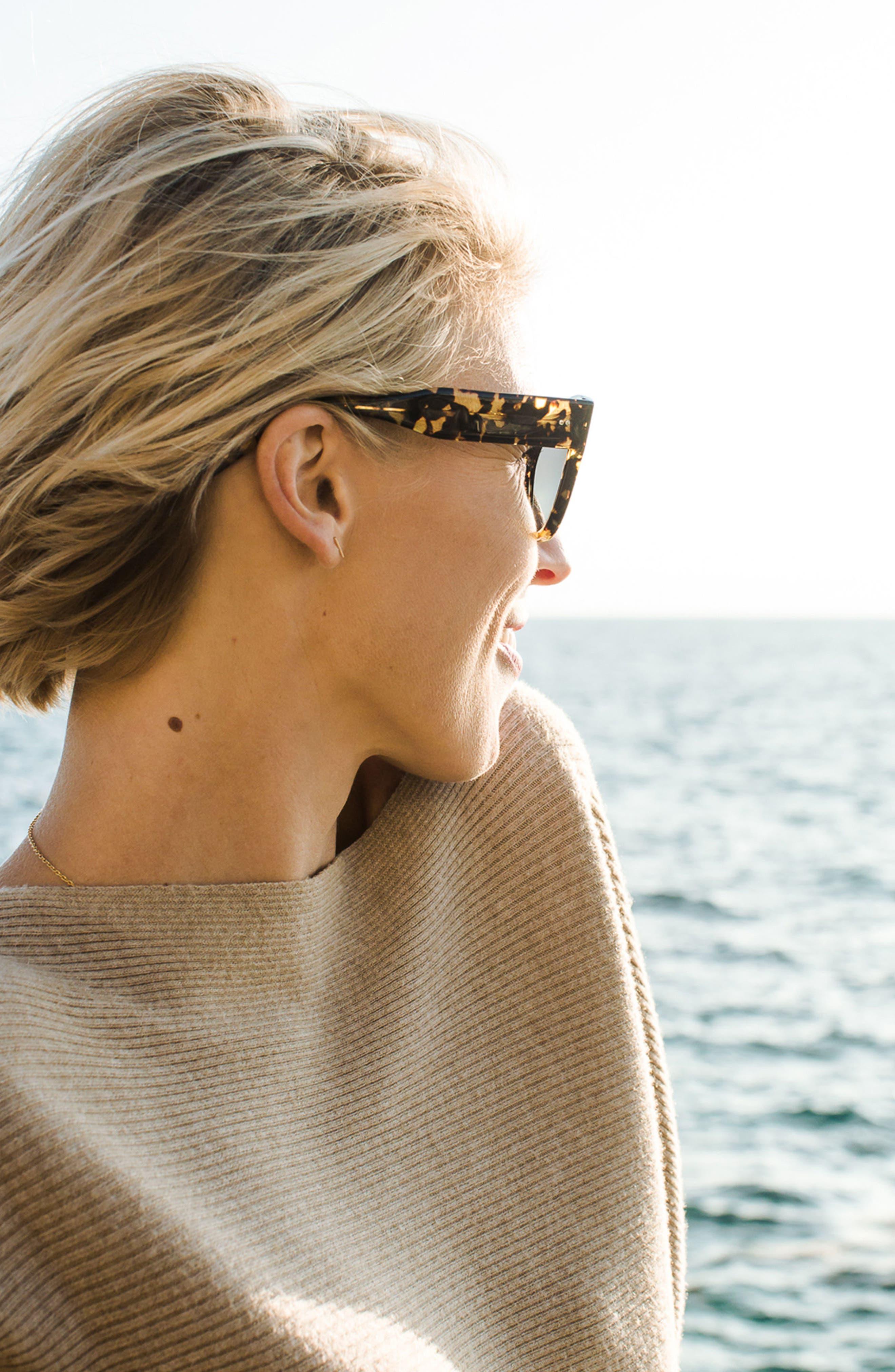 Hammen 54mm Polarized Cat Eye Sunglasses,                             Alternate thumbnail 3, color,