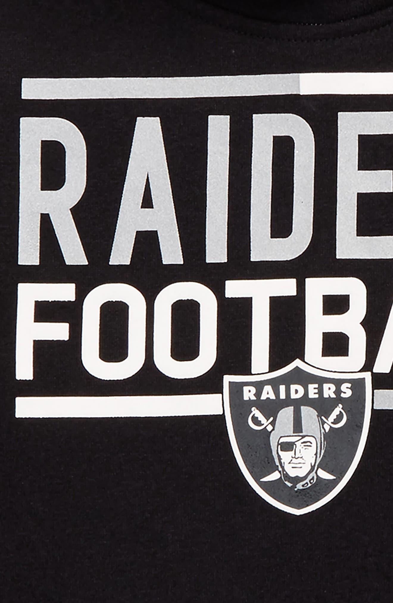 Alternate Image 2  - Outerstuff NFL Oakland Raiders Hoodie (Big Girls)