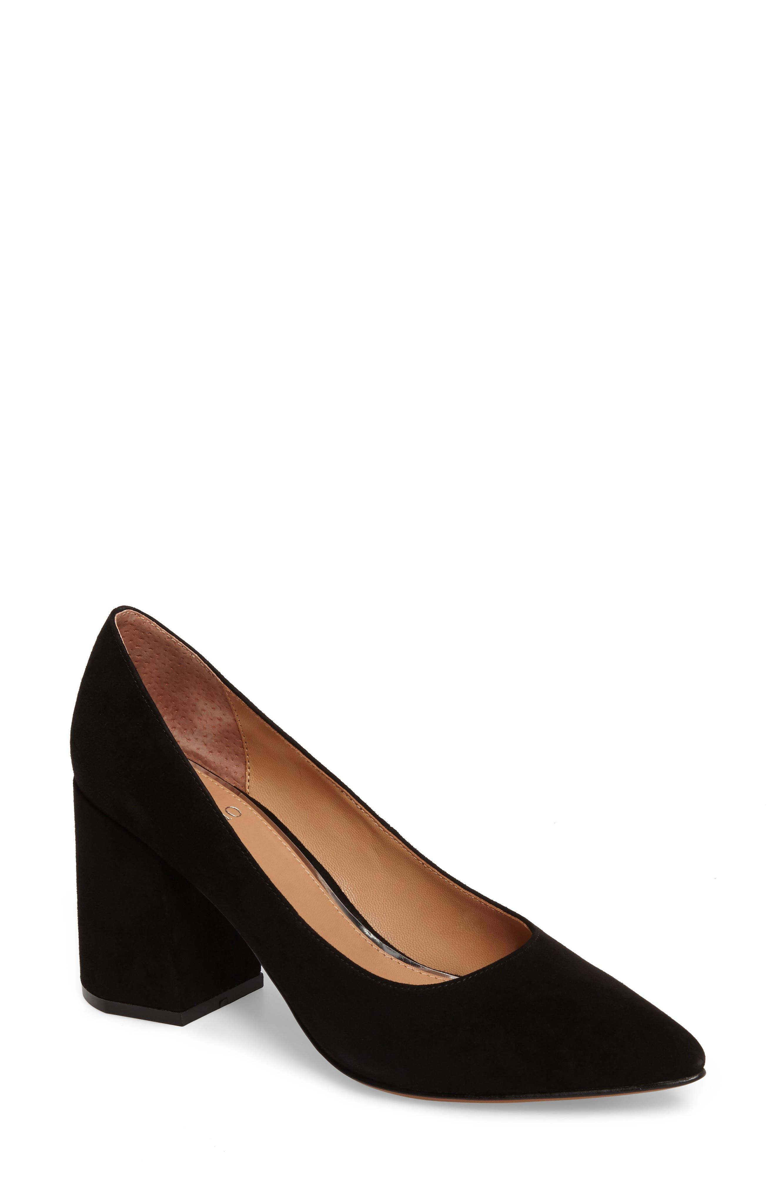 Alternate Image 1 Selected - Linea Paolo Blair Block Heel Pump (Women)