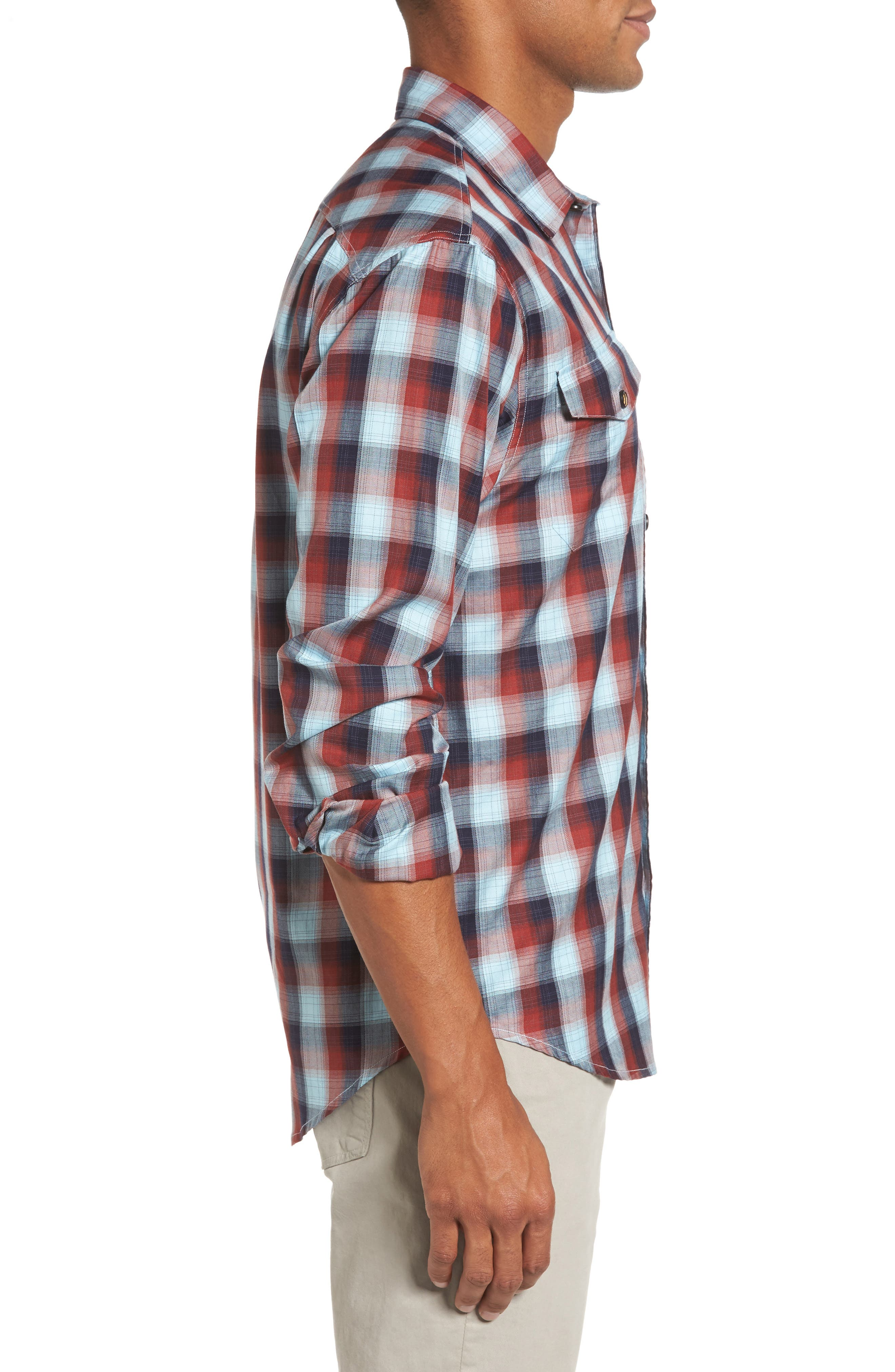 Alternate Image 3  - Coastaoro Redford Check Flannel Shirt