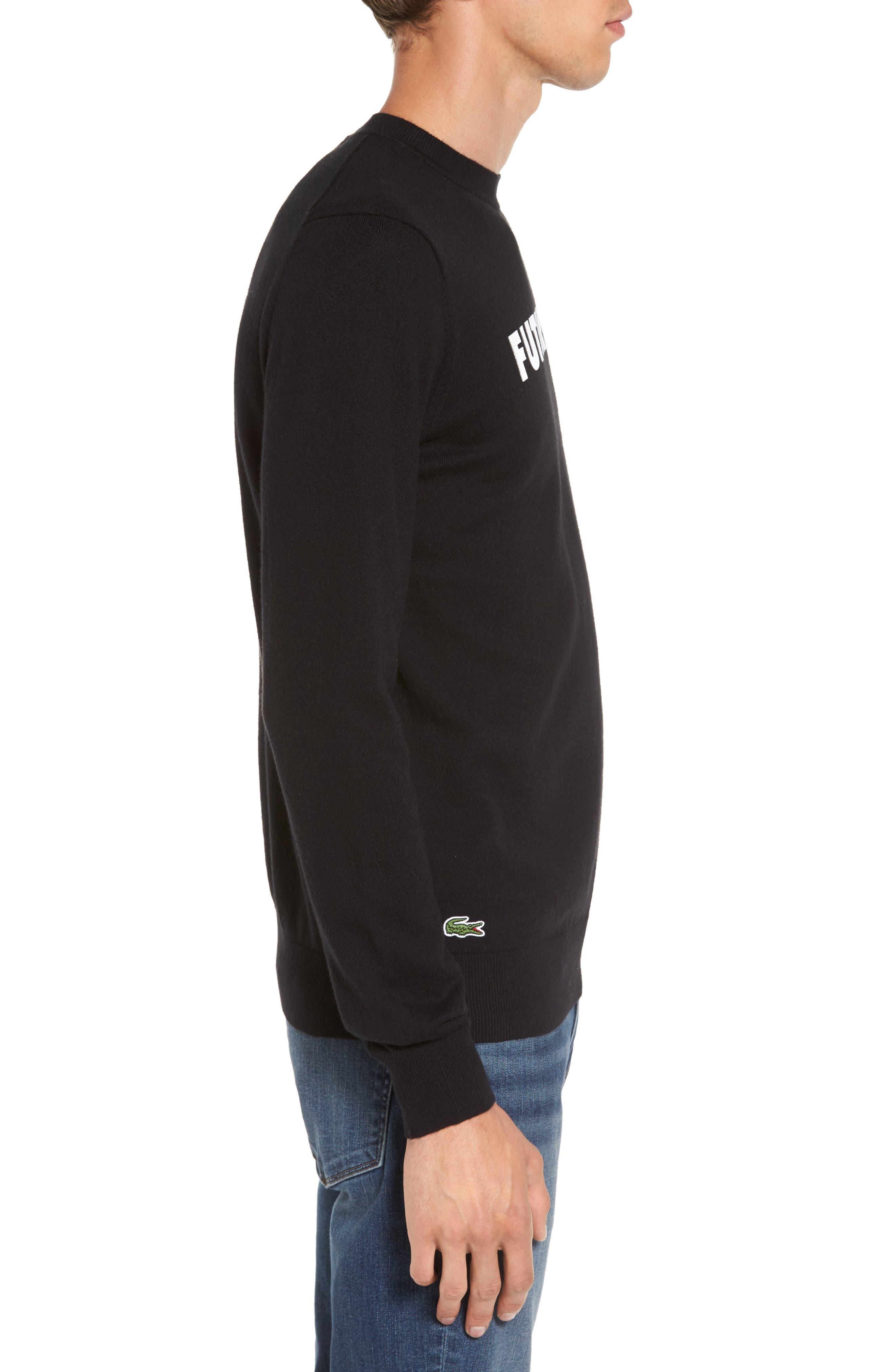 Alternate Image 3  - Lacoste Futurism Graphic Sweater