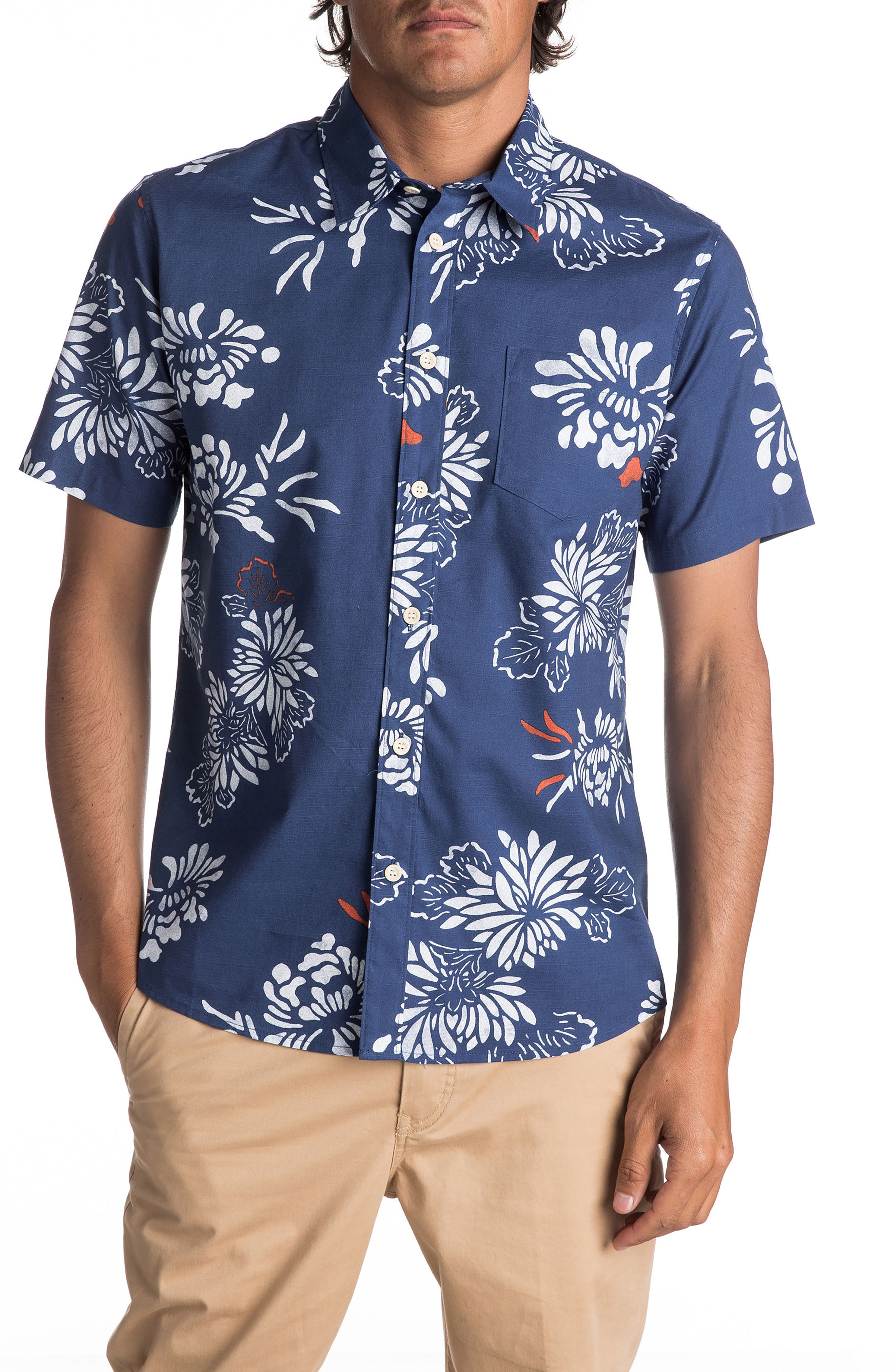 Quiksilver Waterman Collection Hoena Camp Shirt