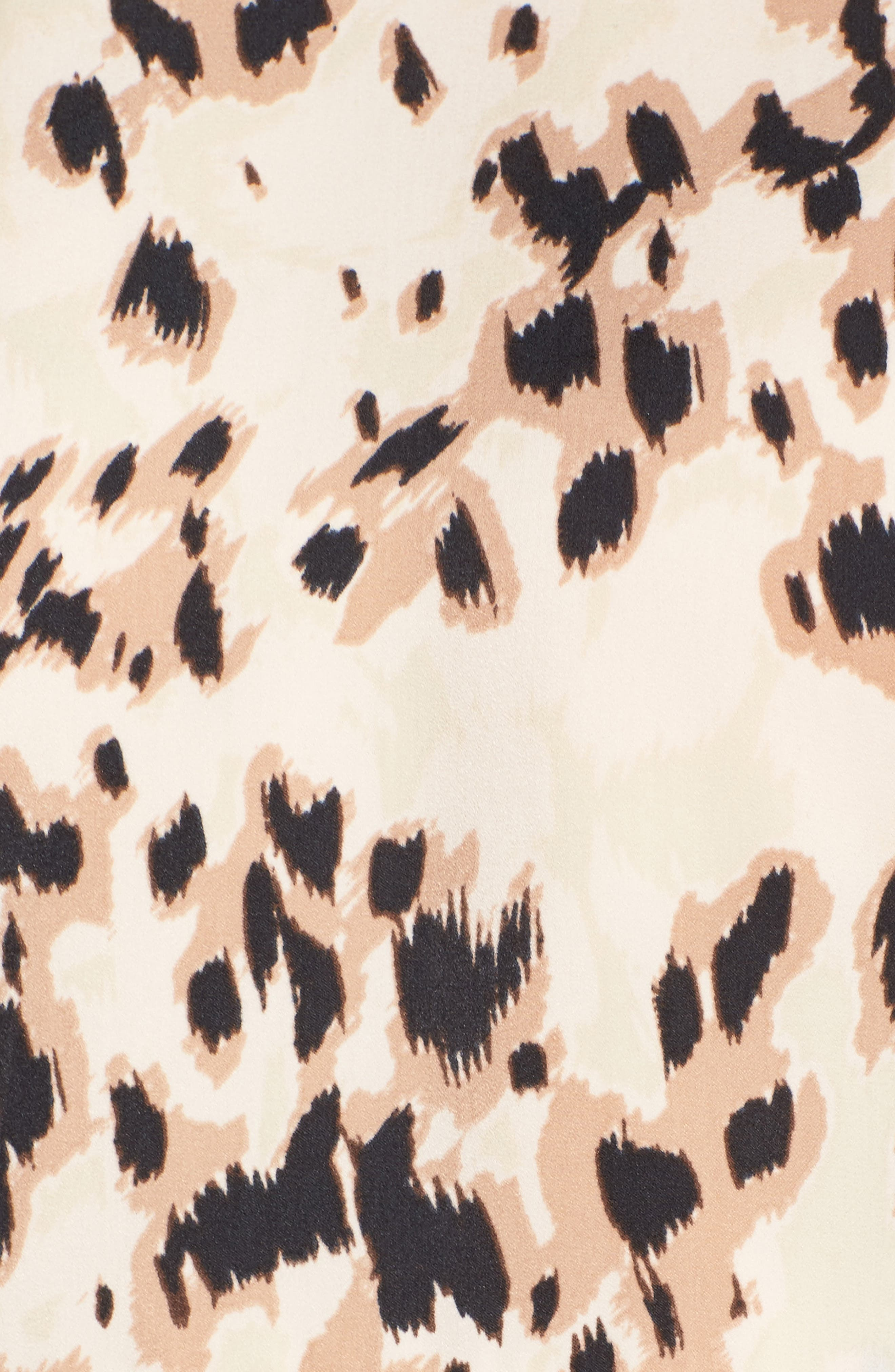 Ingrid Swing Dress,                             Alternate thumbnail 5, color,                             Nude Skins