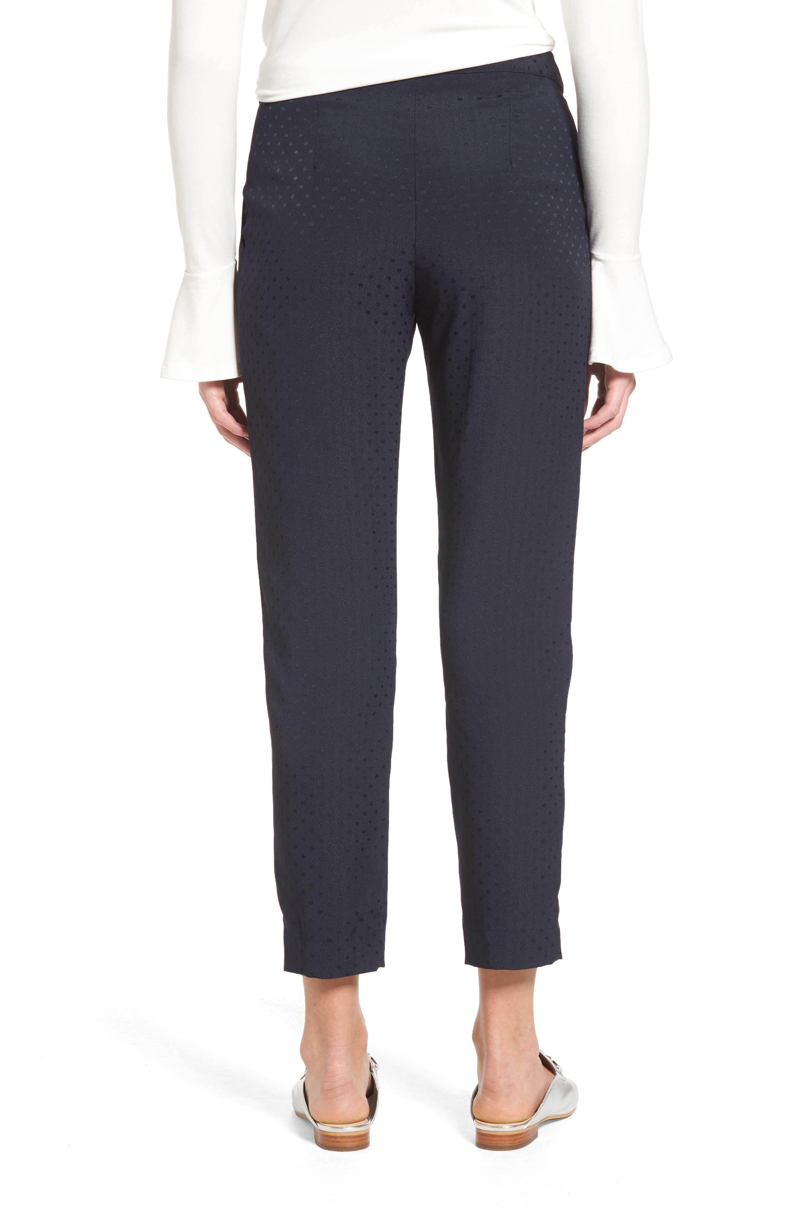 Alternate Image 2  - Willow & Clay Tonal Dot Slim Pants