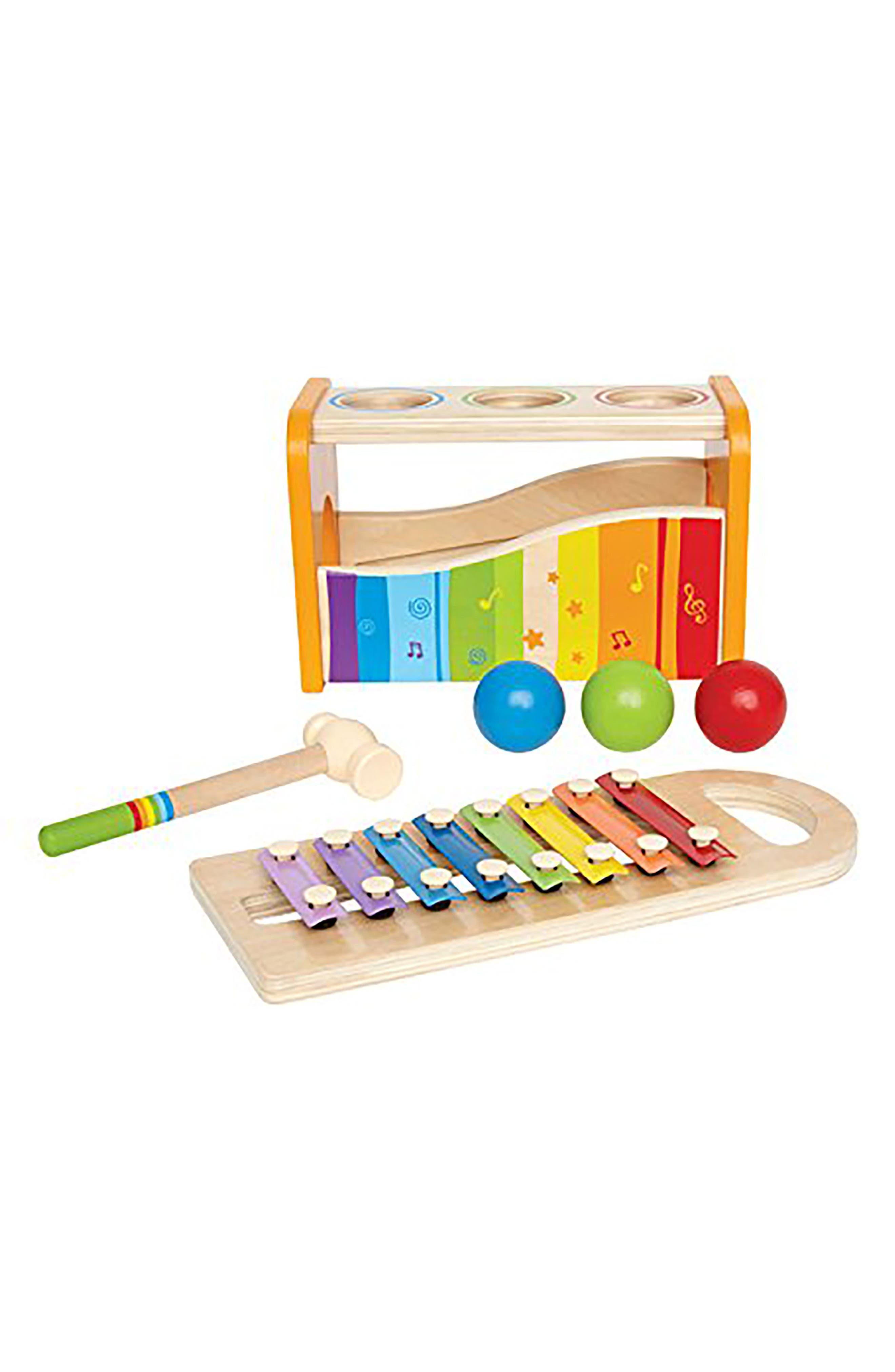Pound & Tap Bench,                         Main,                         color, Multi