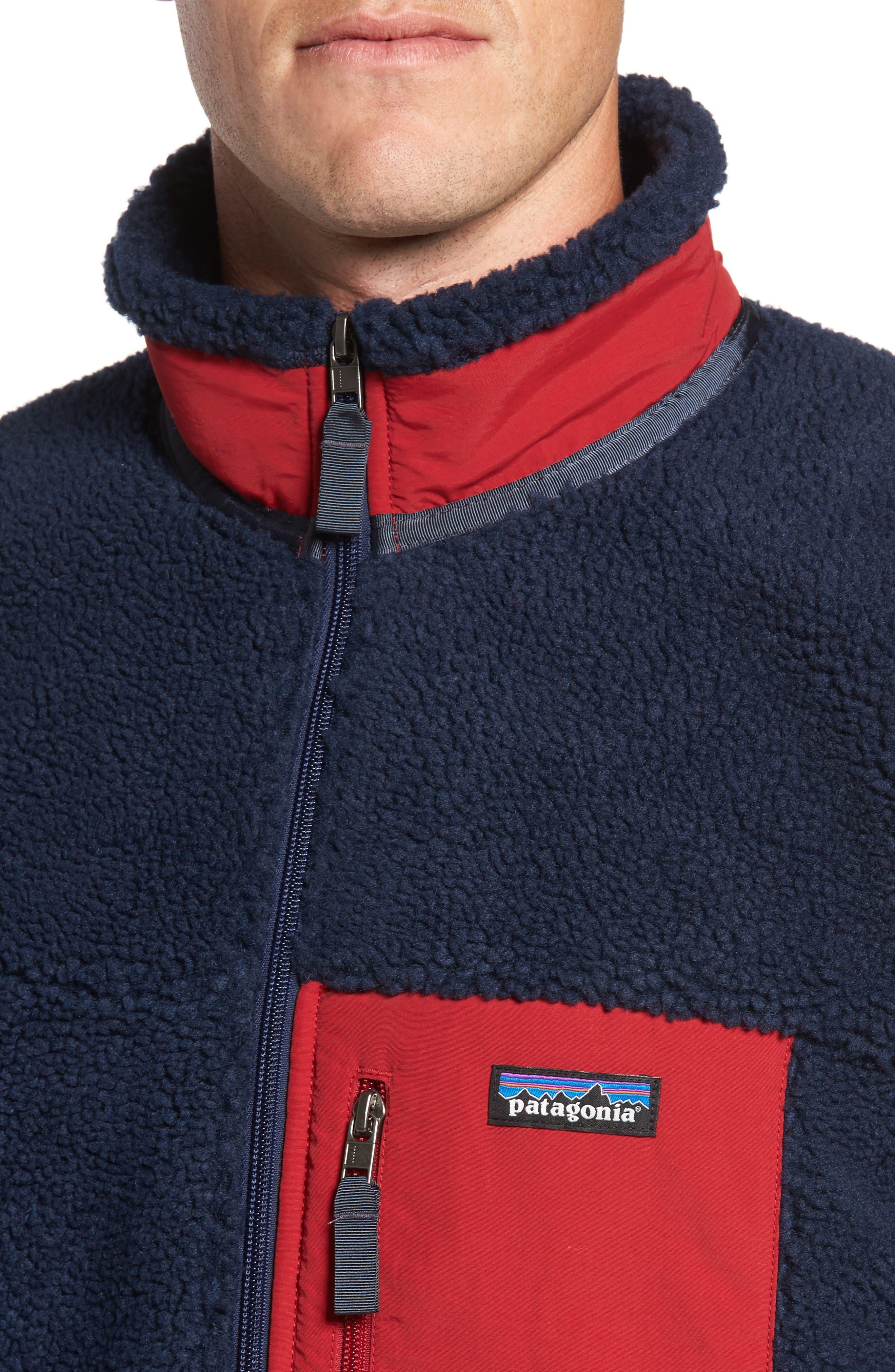 Alternate Image 4  - Patagonia Retro-X Fleece Jacket