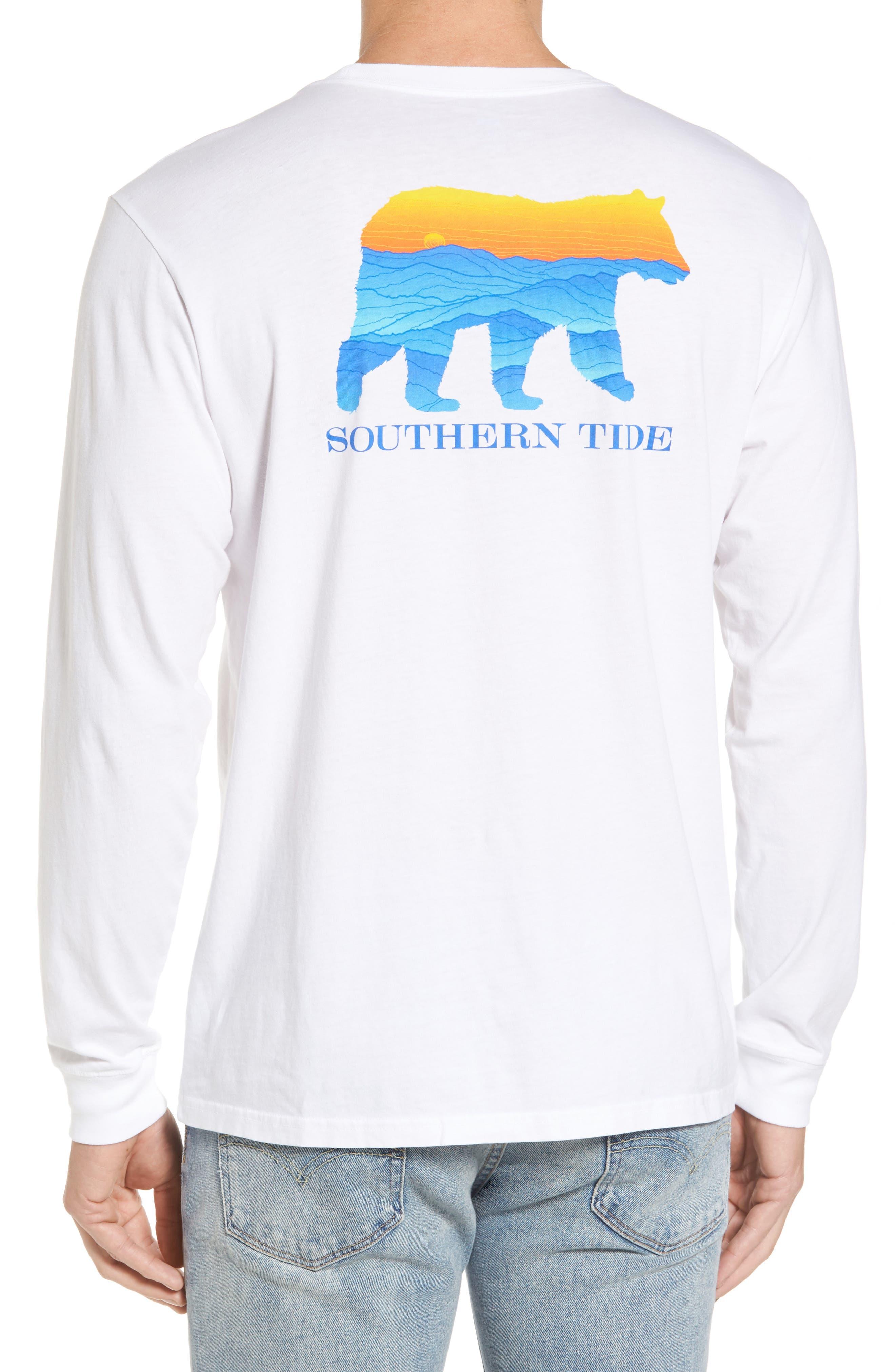 Blue Ridge Bear T-Shirt,                             Alternate thumbnail 2, color,                             Classic White