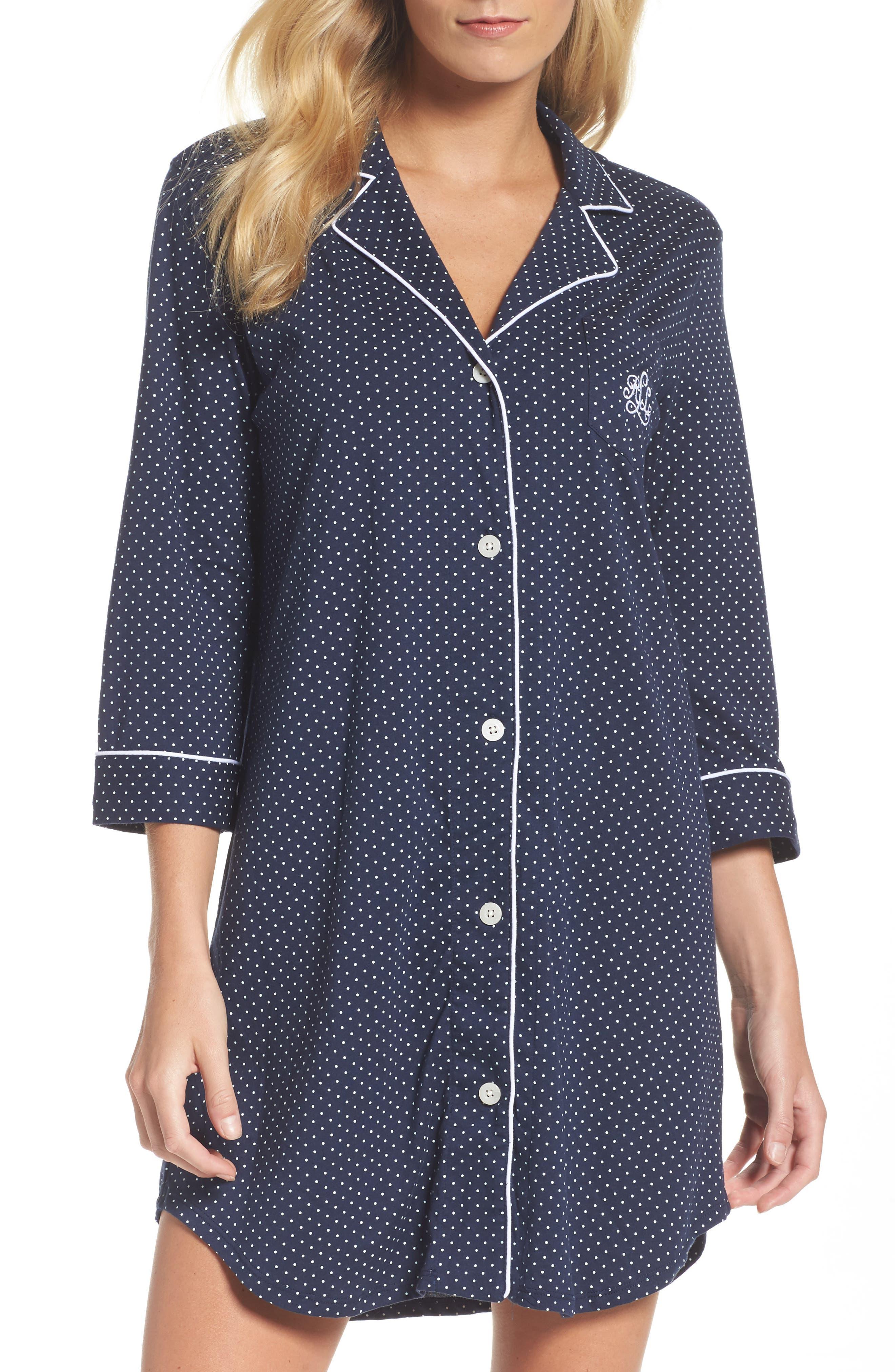 Lauren Ralph Lauren Jersey Sleep Shirt (Online Only)