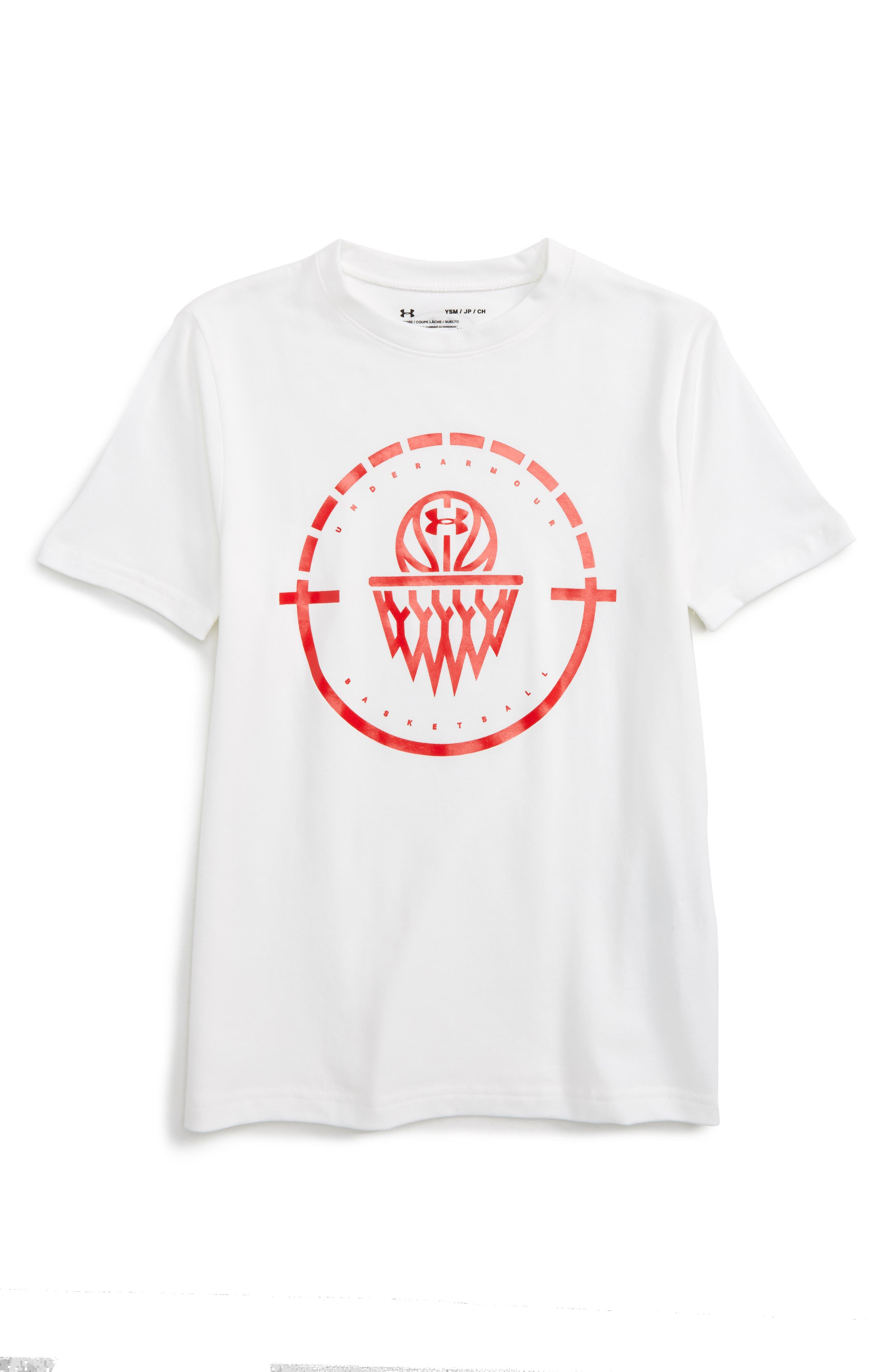 Under Armour Center Court Graphic HeatGear® T-Shirt (Little Boys & Big Boys)