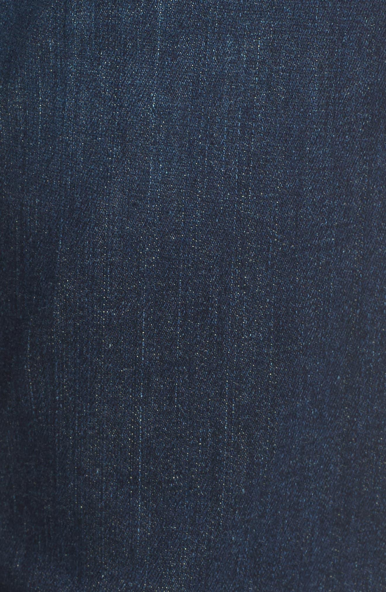 Cara Ankle Cigarette Jeans,                             Alternate thumbnail 5, color,                             Marisol