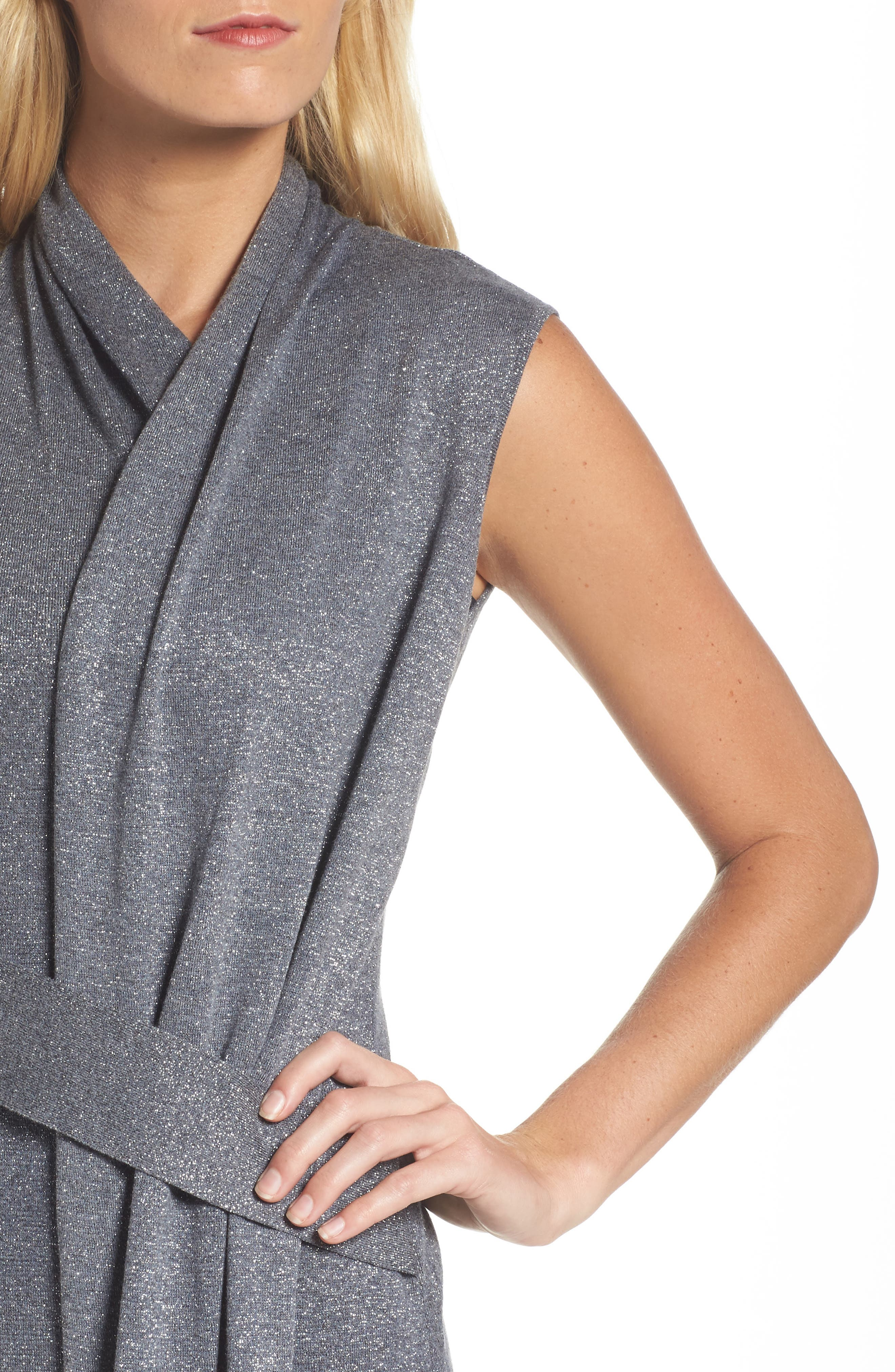 Alternate Image 4  - NIC+ZOE Draped Faux Wrap Dress