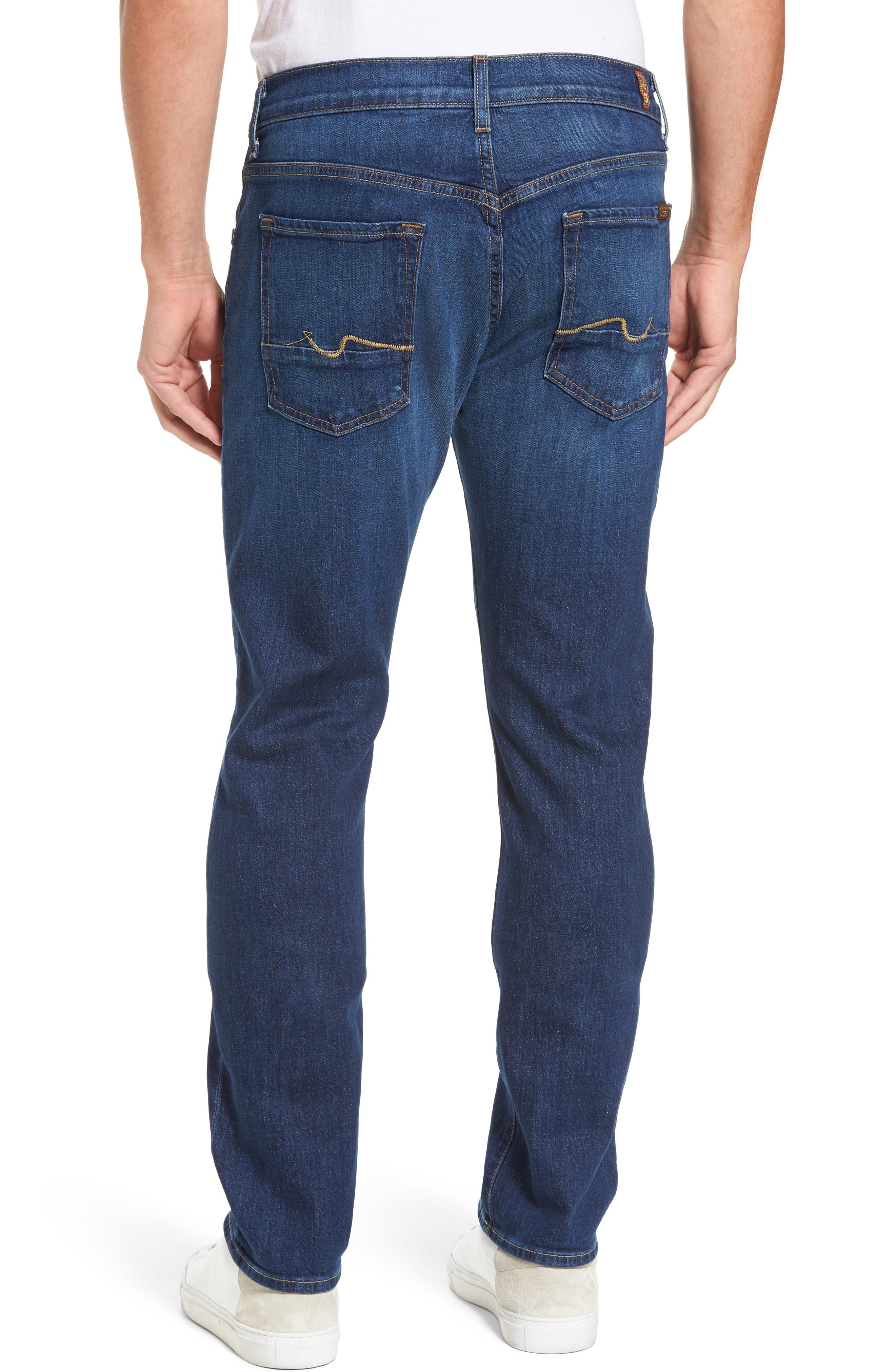 Alternate Image 2  - 7 For All Mankind® The Straight Slim Straight Leg Jeans (Dimension)