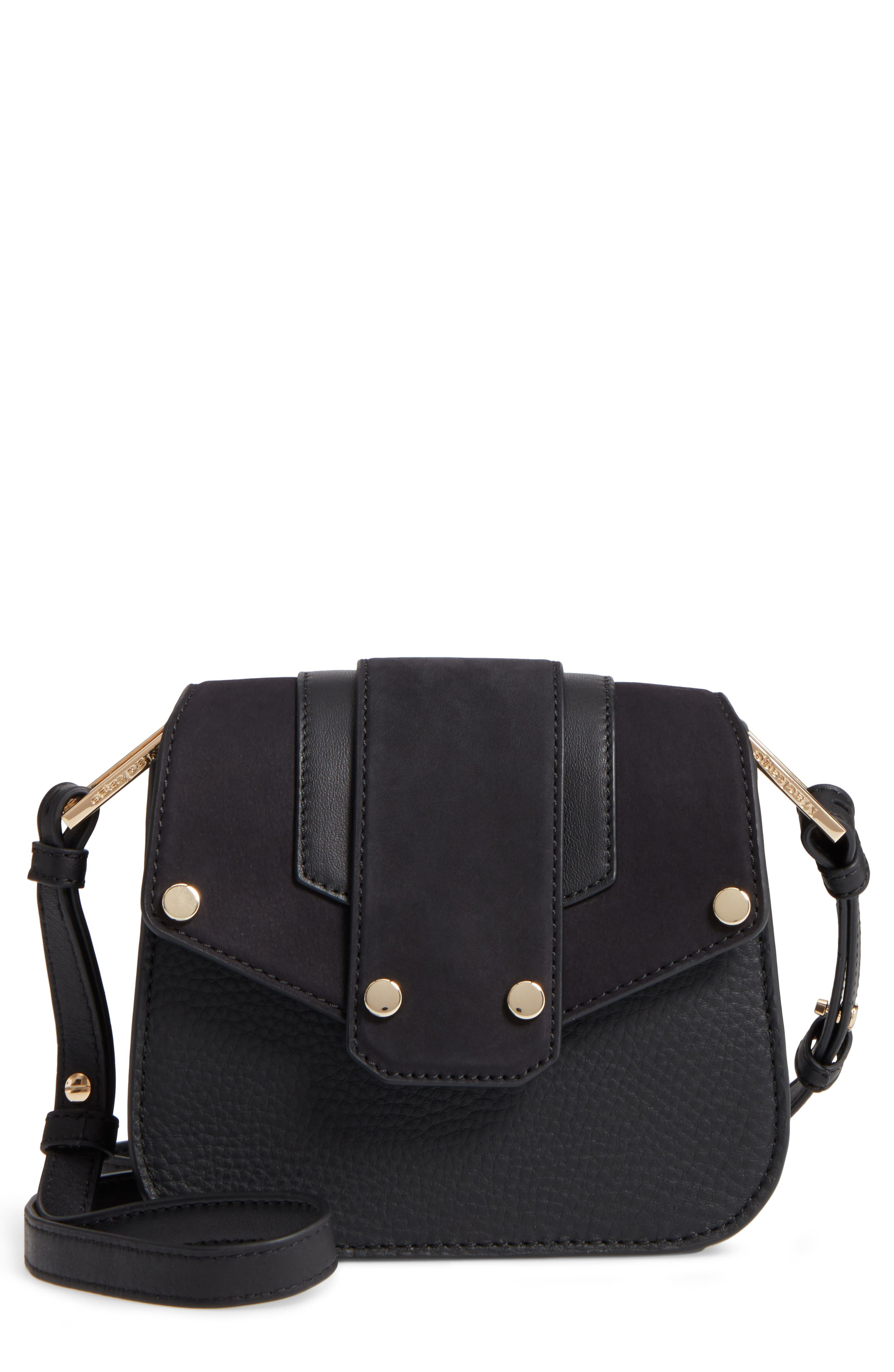 Main Image - Mackage Mini Polly Leather Crossbody Bag