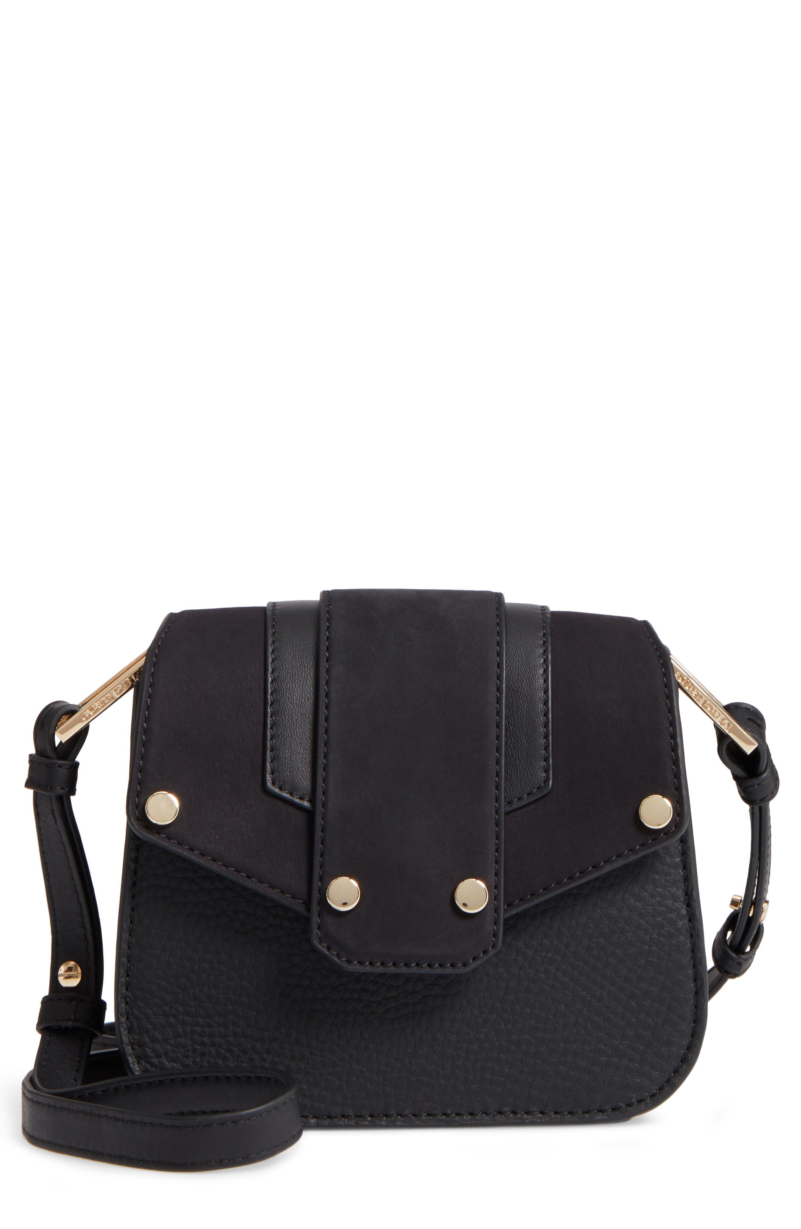 Mackage Mini Polly Leather Crossbody Bag