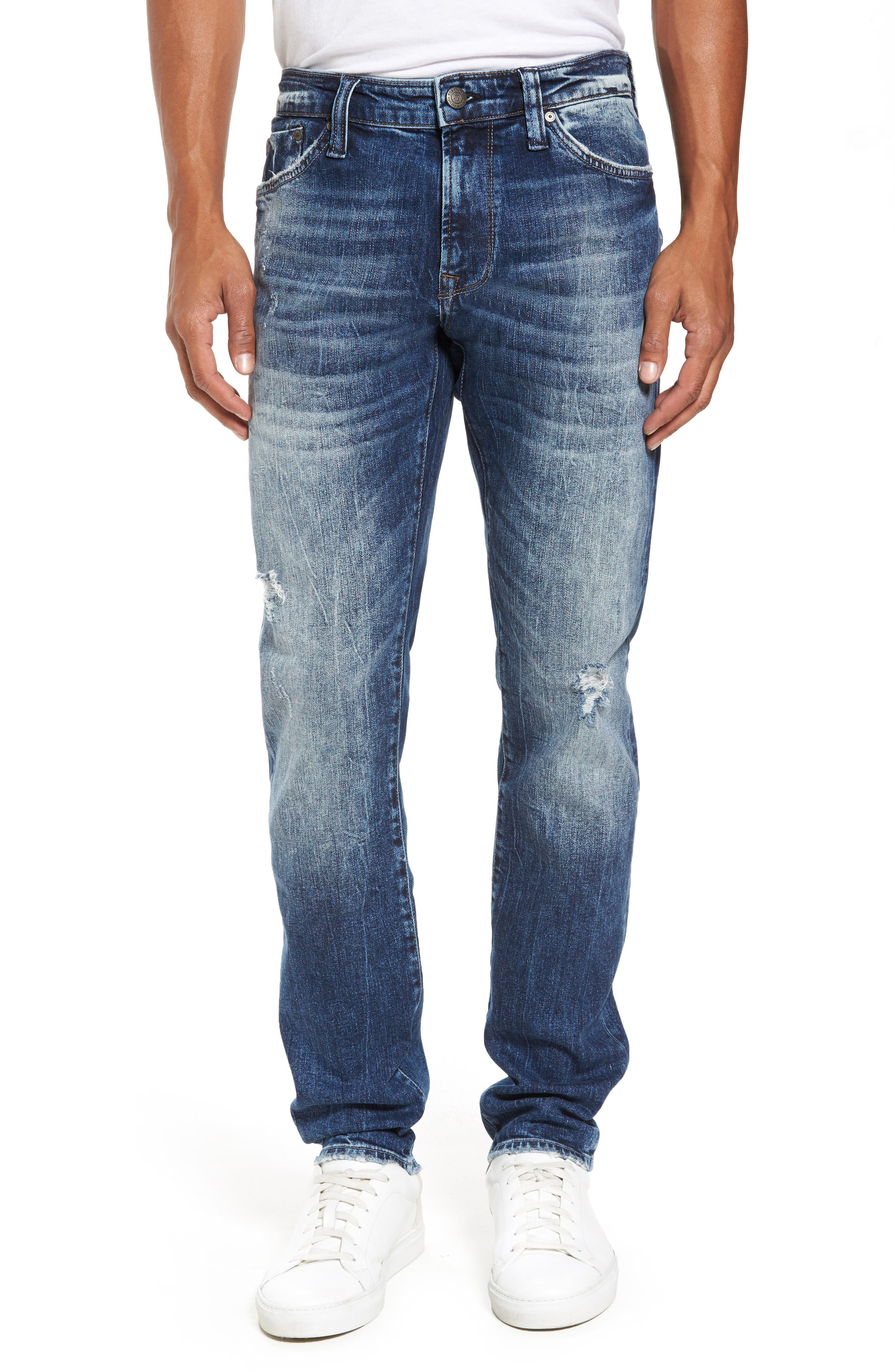 Mavi Jeans Jake Easy Slim Fit Jeans (Mid Authentic Vintage)