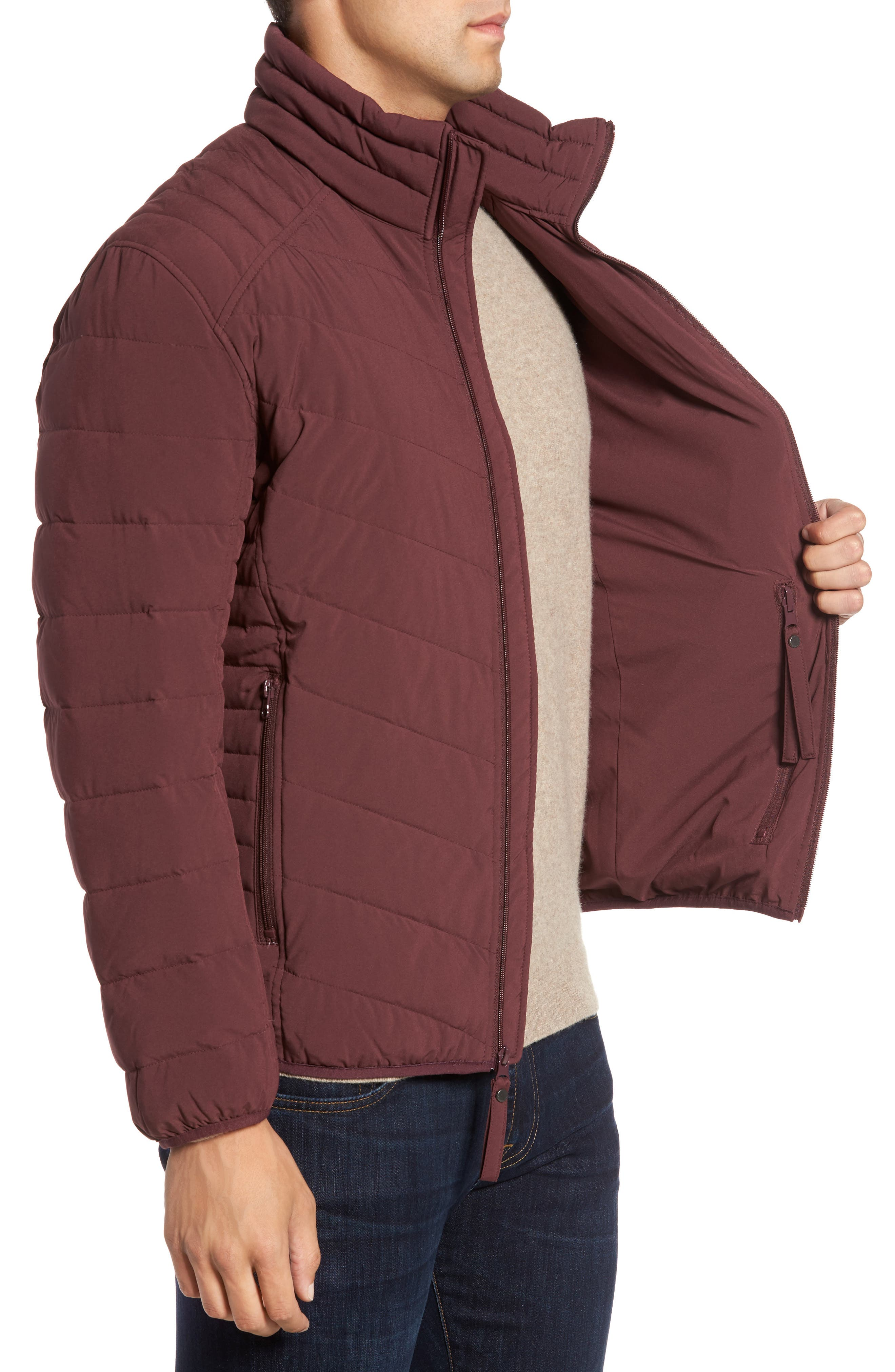 Alternate Image 3  - Marc New York Stretch Packable Down Jacket